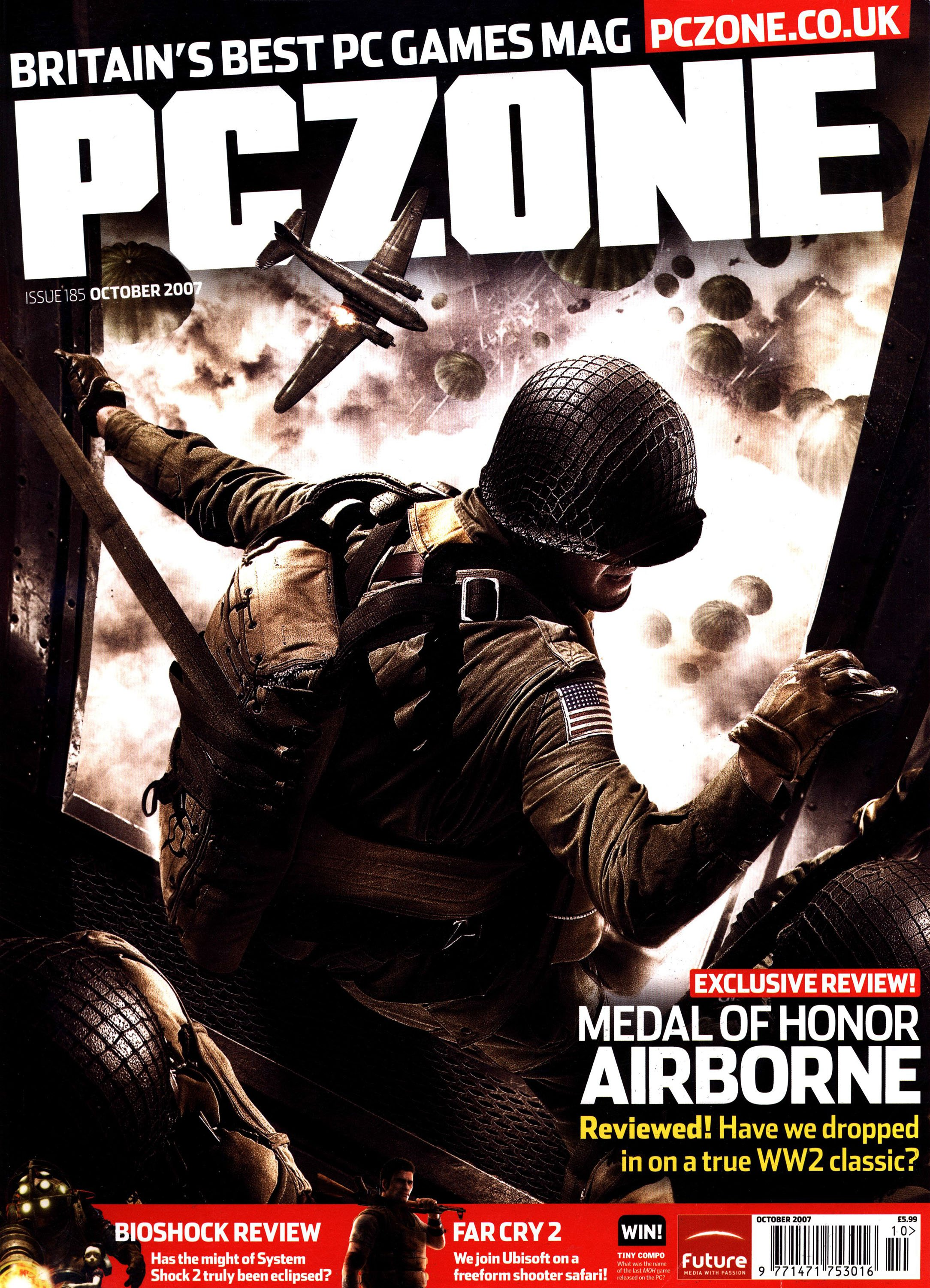 PC Zone Issue 185 (October 2007)