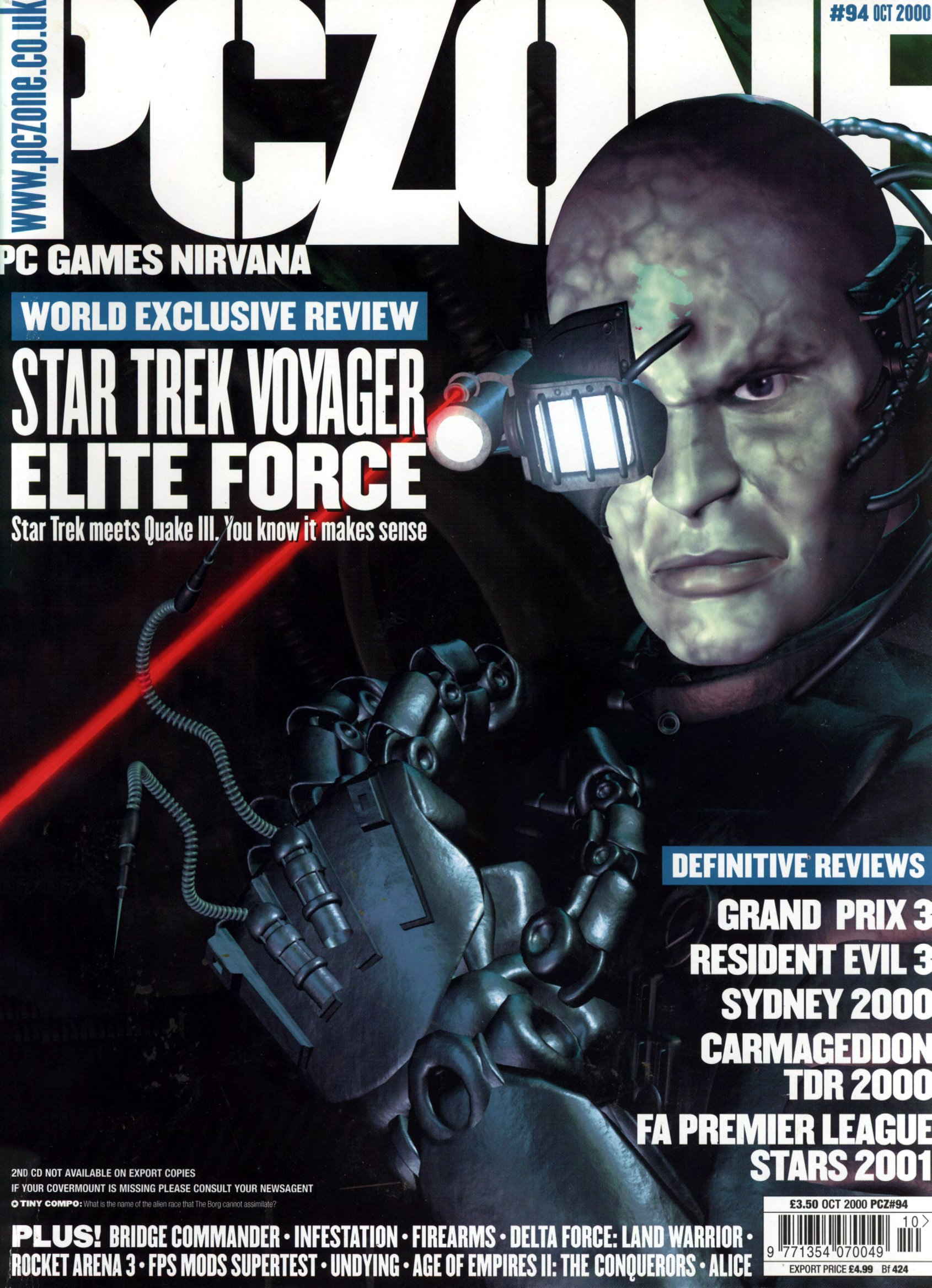 PC Zone Issue 094 (October 2000)
