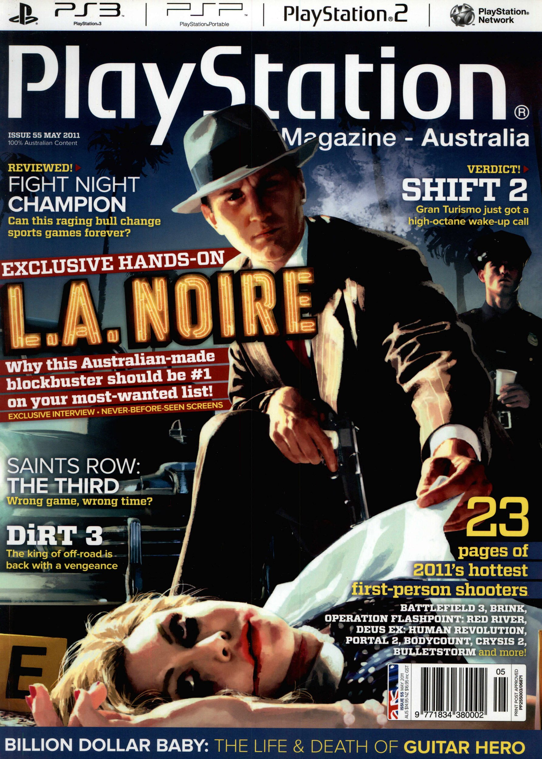 PlayStation Official Magazine Issue 055 (May 2011)