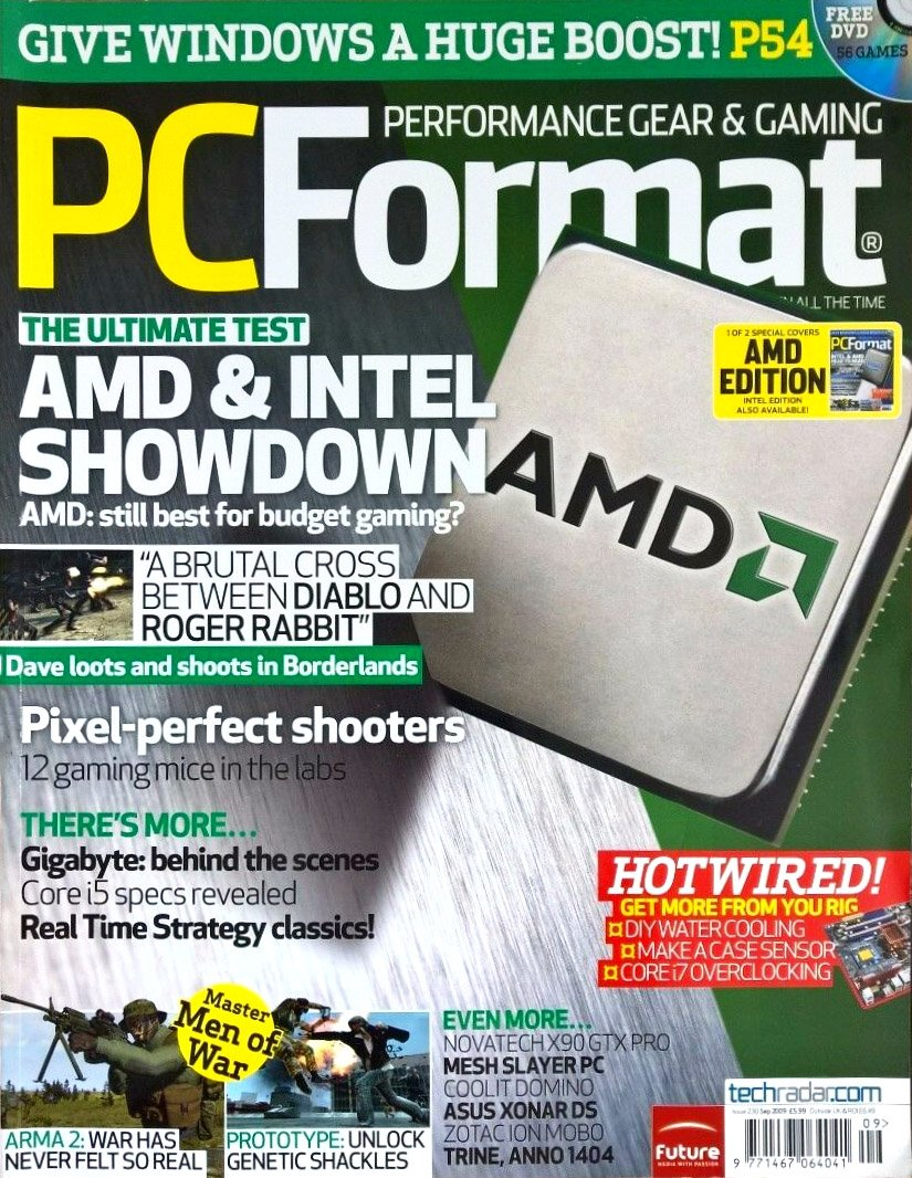 PC Format Issue 230 (September 2009)