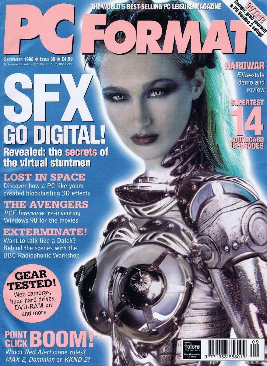 PC Format Issue 086 (September 1998)
