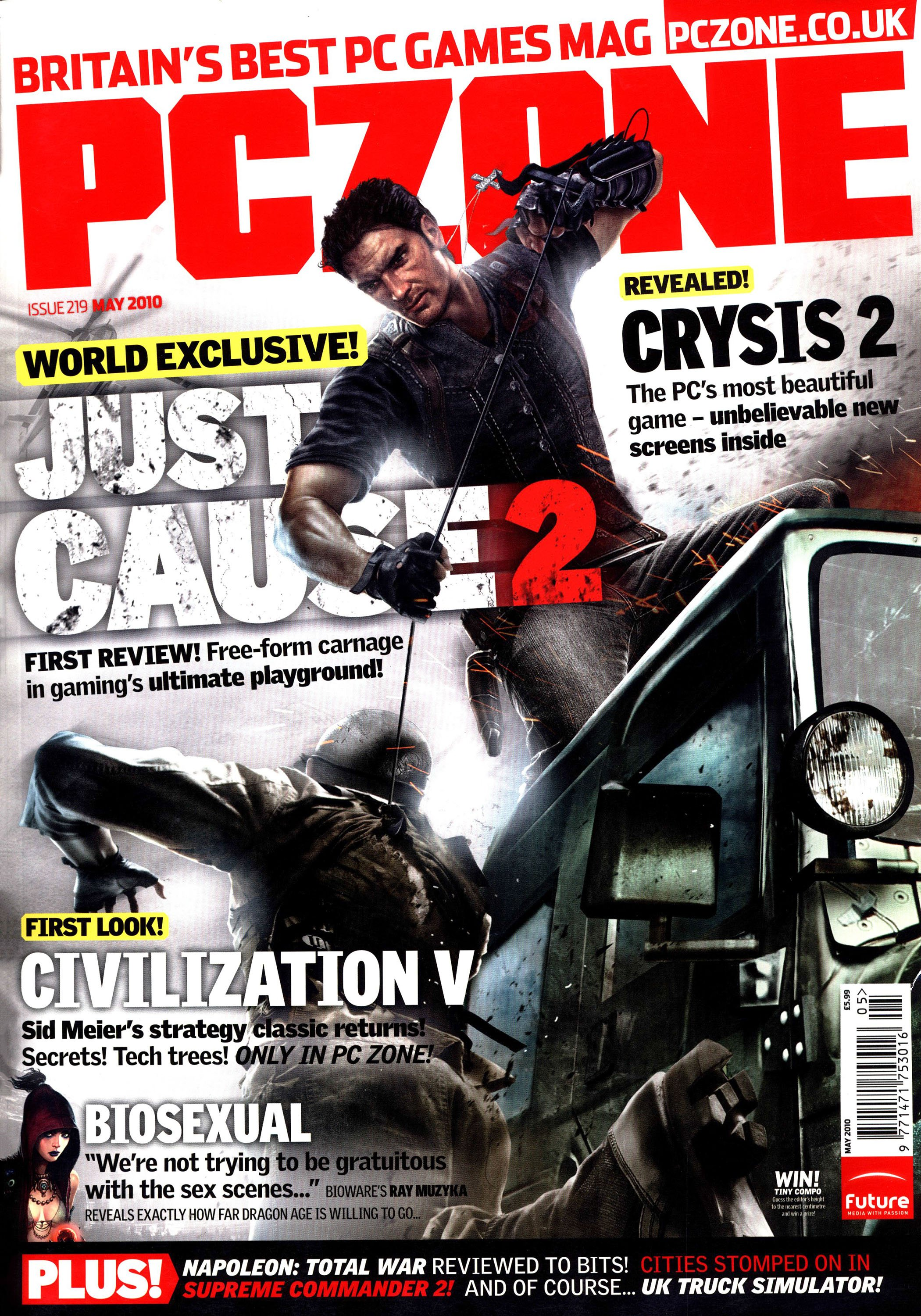 PC Zone Issue 219 (May 2010)