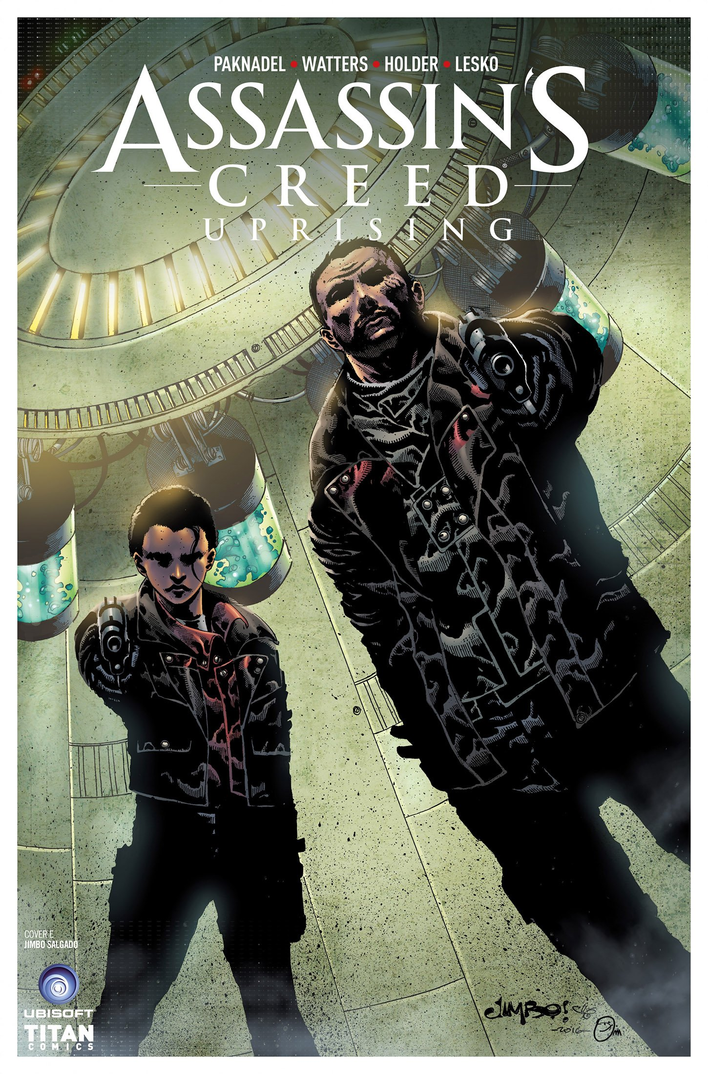 Assassin's Creed - Uprising 05 (August 2017) (cover e)