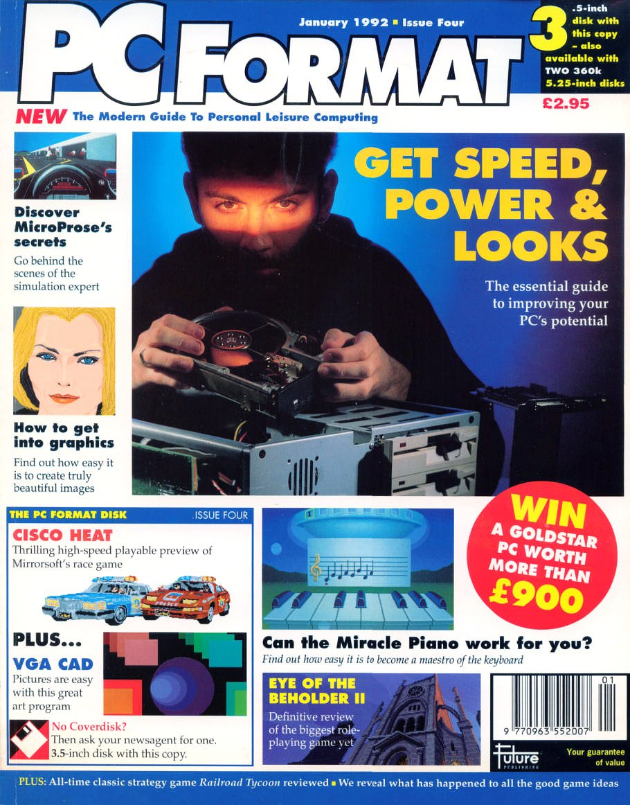 PC Format Issue 004 (January 1992)