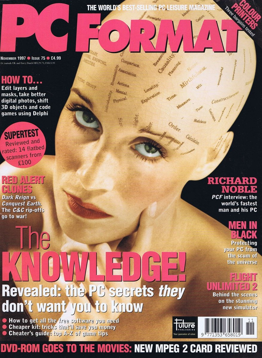 PC Format Issue 075 (November 1997)
