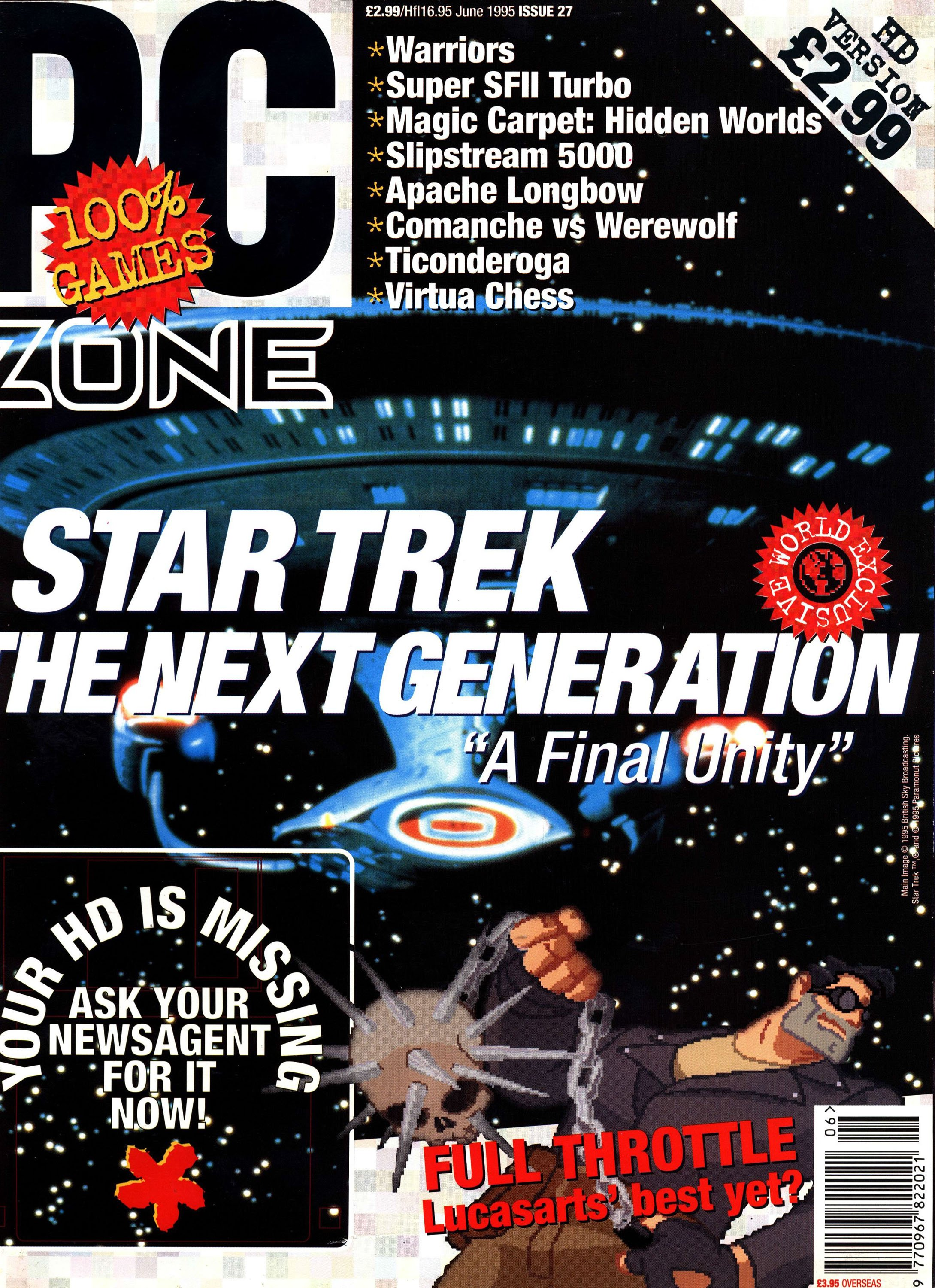 PC Zone Issue 027 (June 1995)