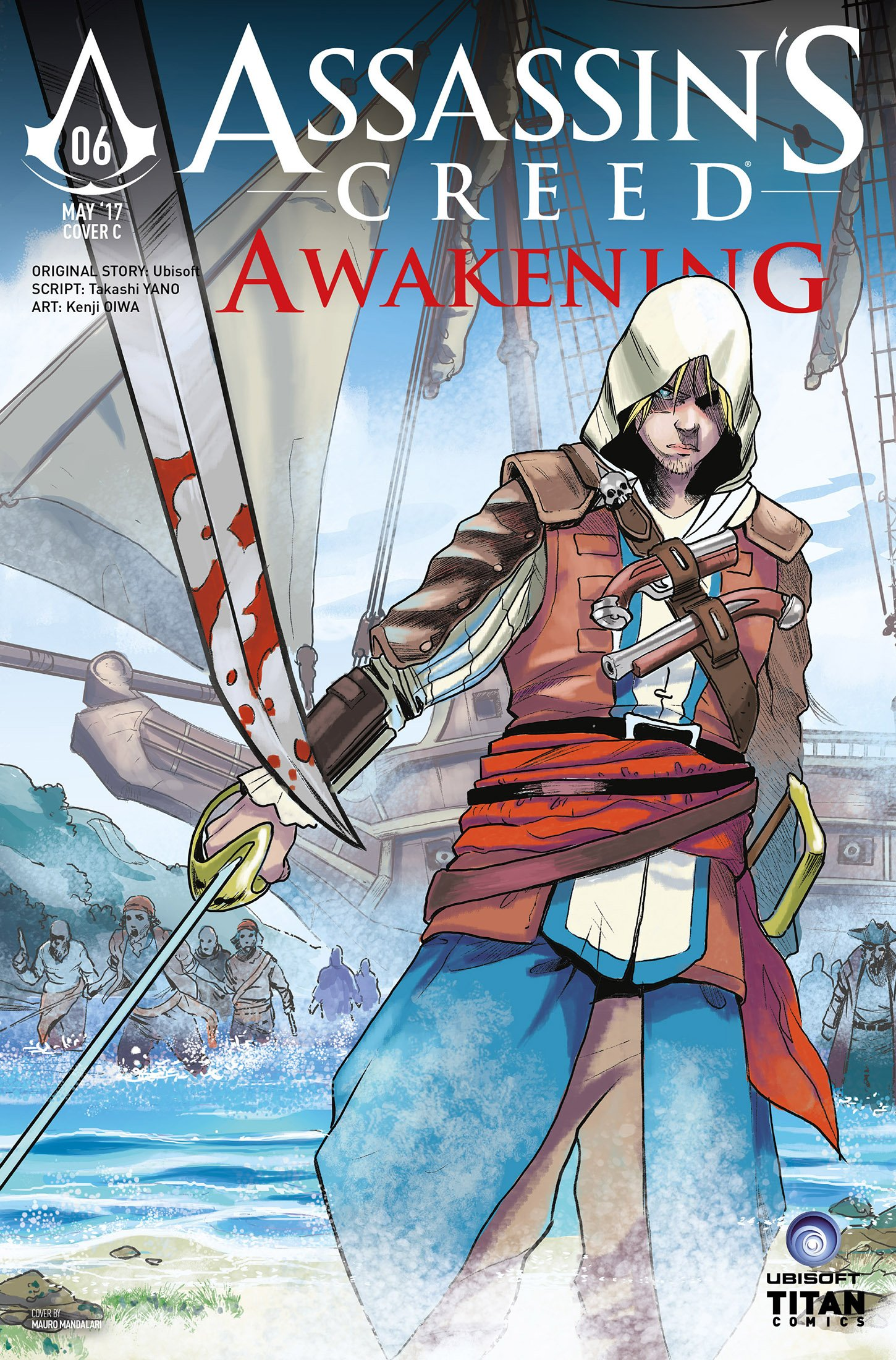 Assassin's Creed - Awakening 06 (May 2017) (cover c)