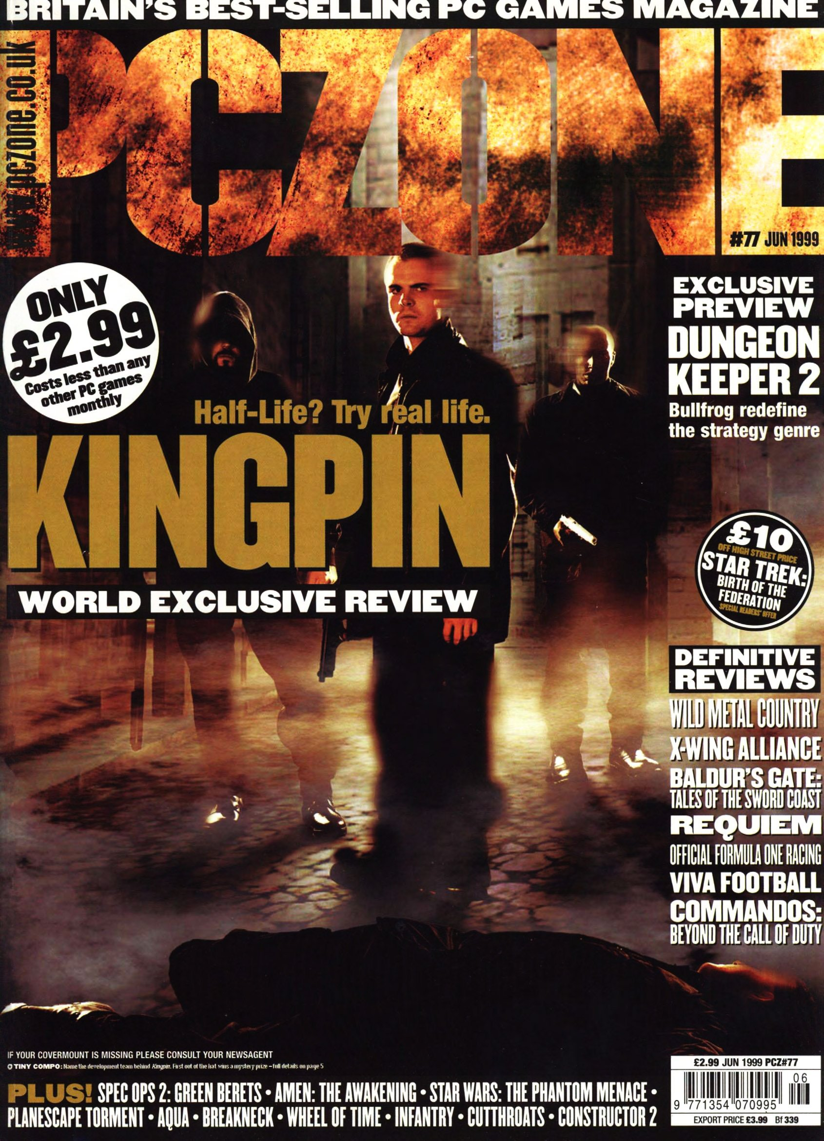 PC Zone Issue 077 (June 1999)