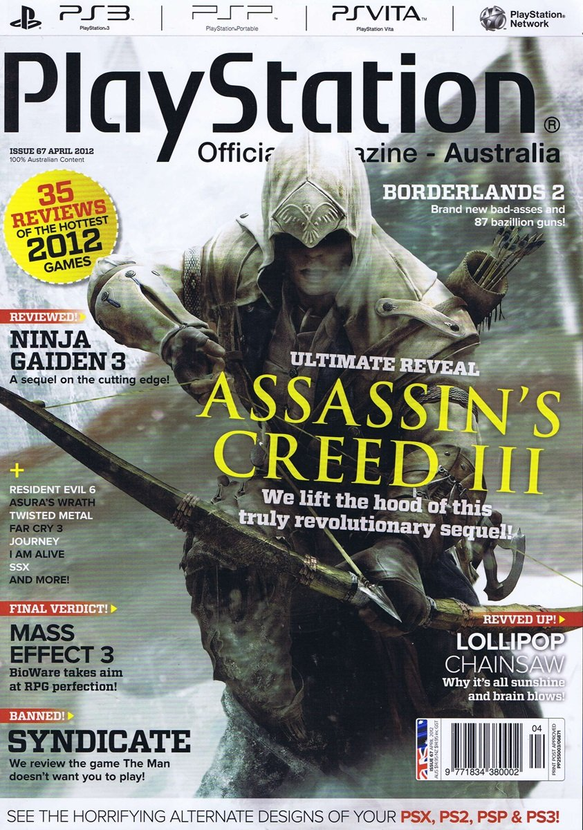 PlayStation Official Magazine Issue 067 (April 2012)