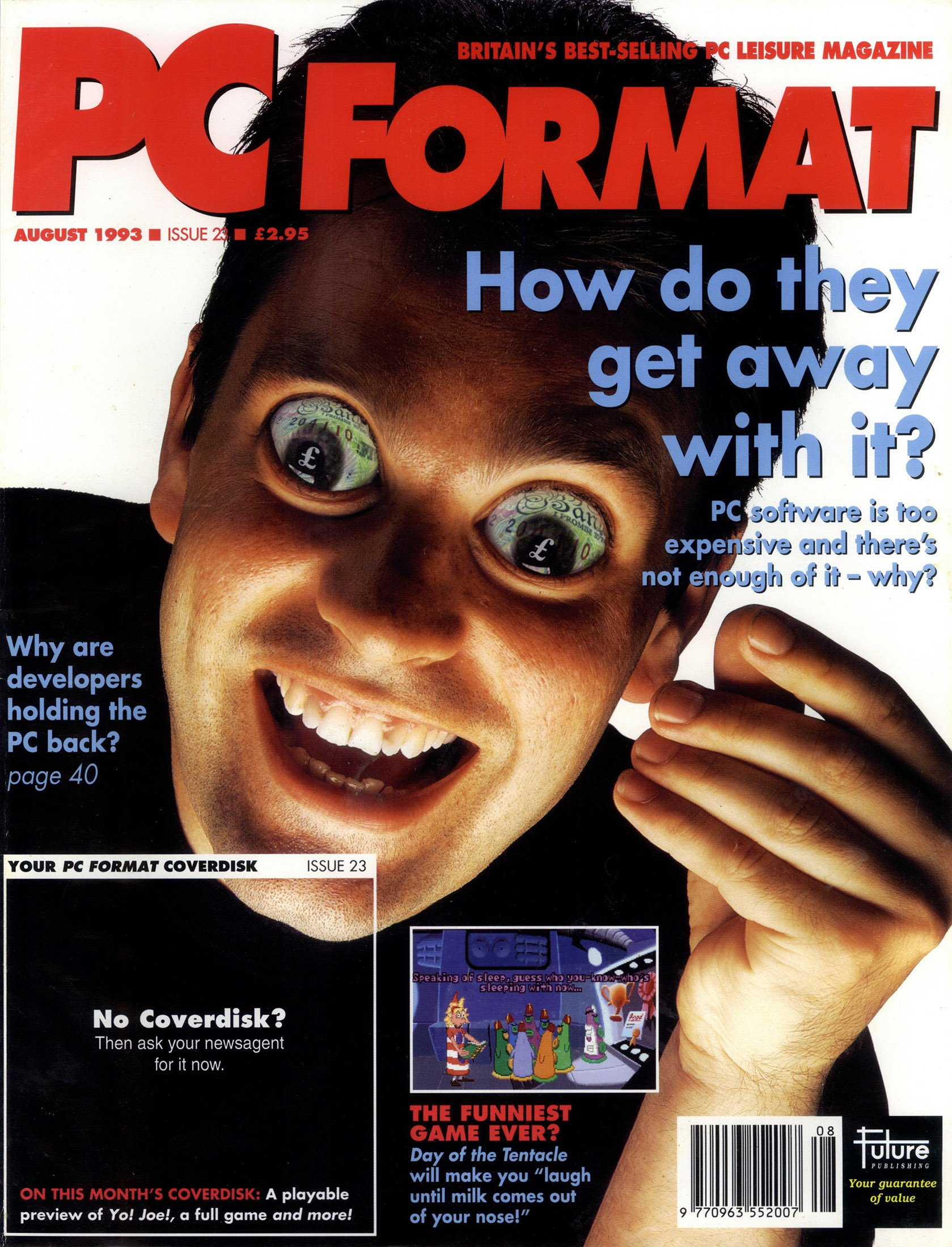 PC Format Issue 023 (August 1993)
