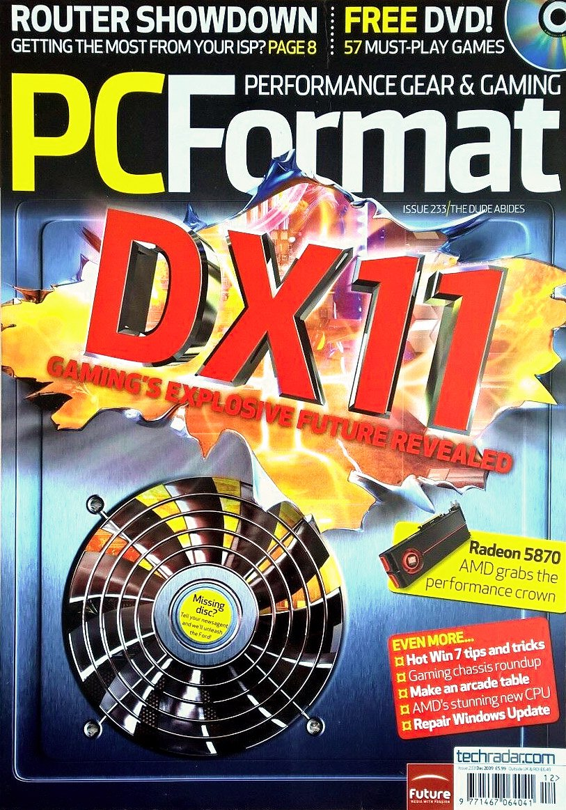PC Format Issue 233 (December 2009)