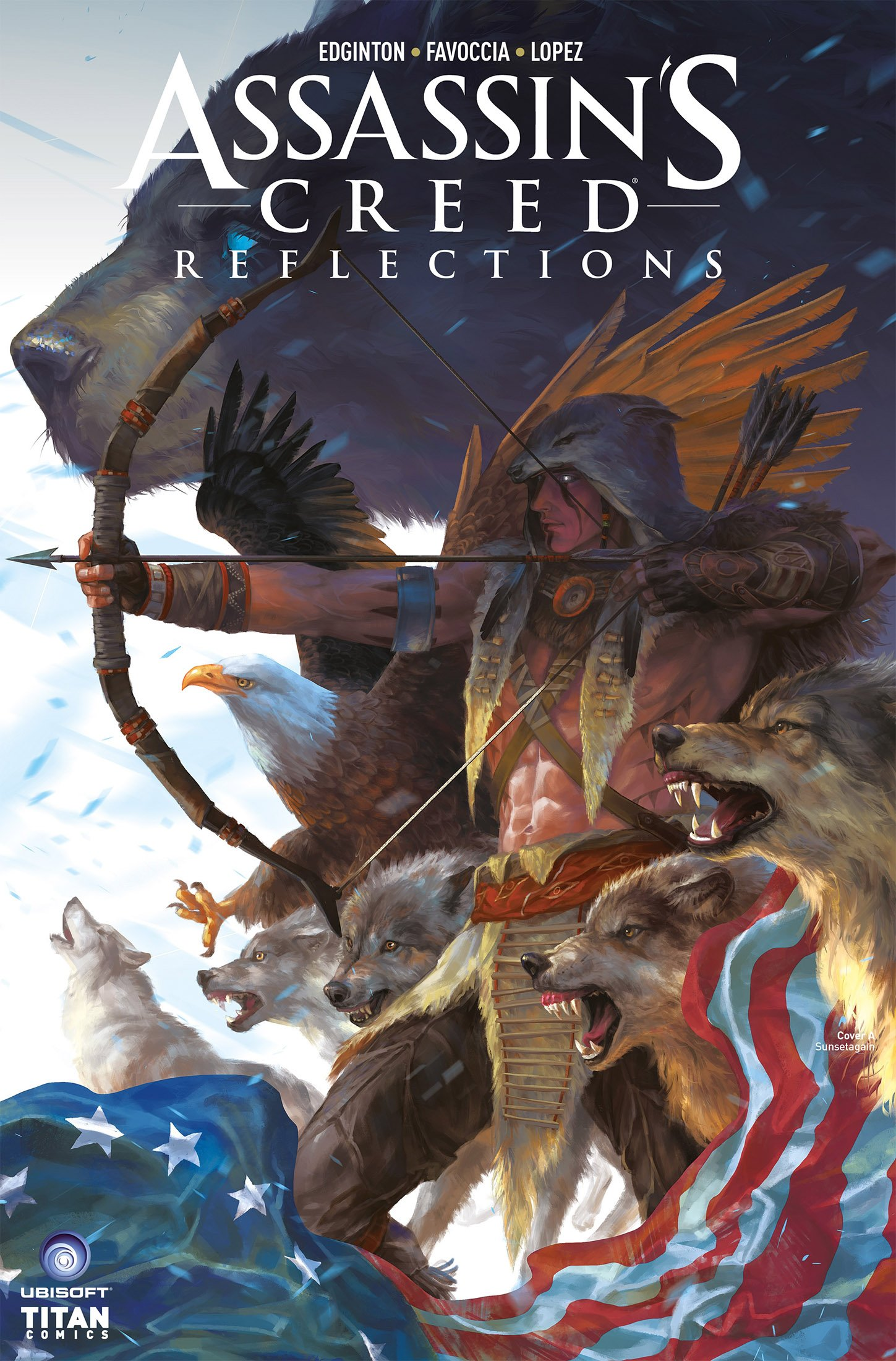 Assassin's Creed - Reflections 04 (August 2017) (cover a)