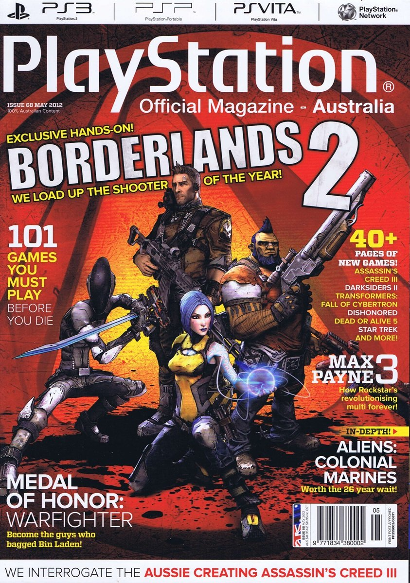PlayStation Official Magazine Issue 068 (May 2012)