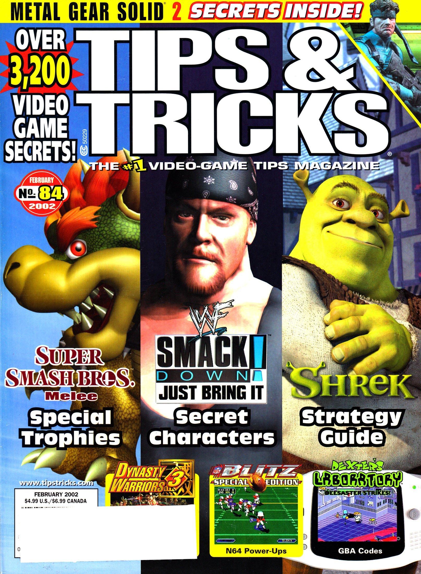 Tips & Tricks Issue 084 February 2002