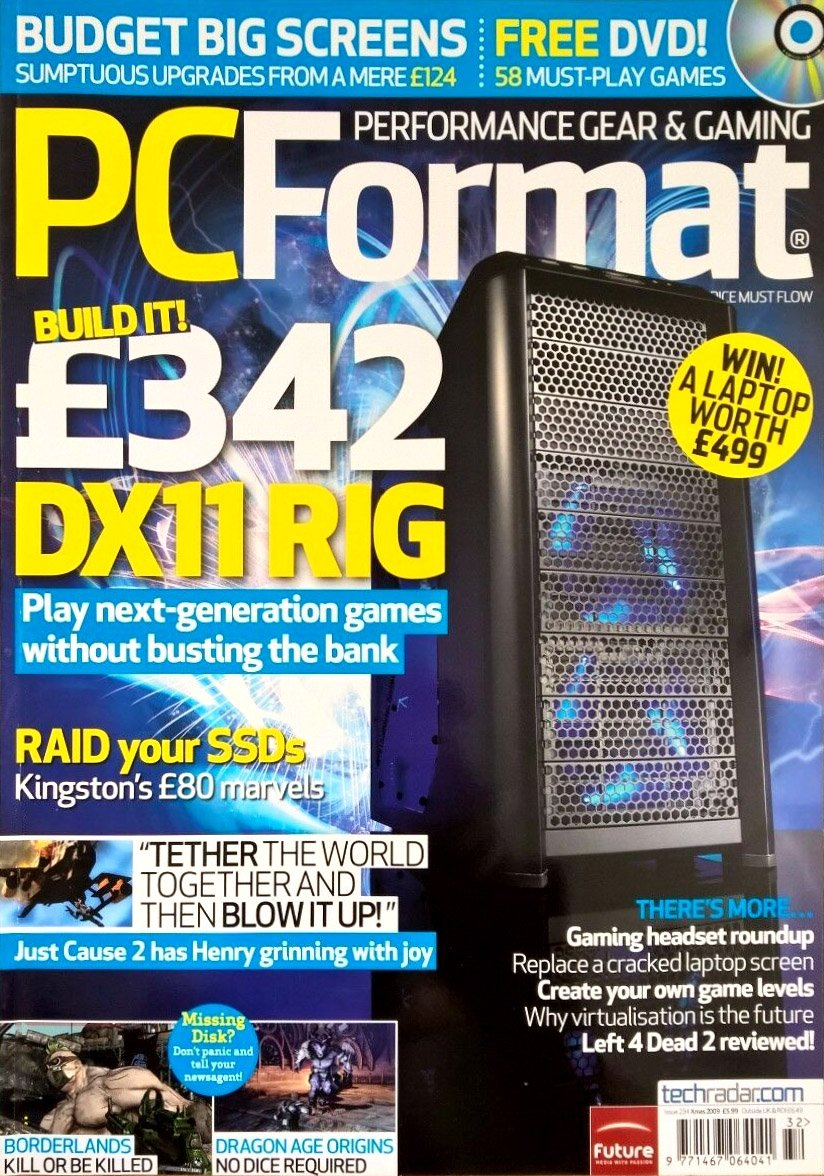 PC Format Issue 234 (Christmas 2009)