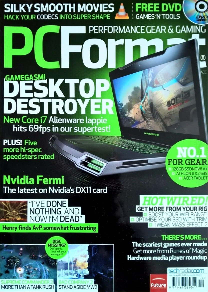 PC Format Issue 238 (April 2010)
