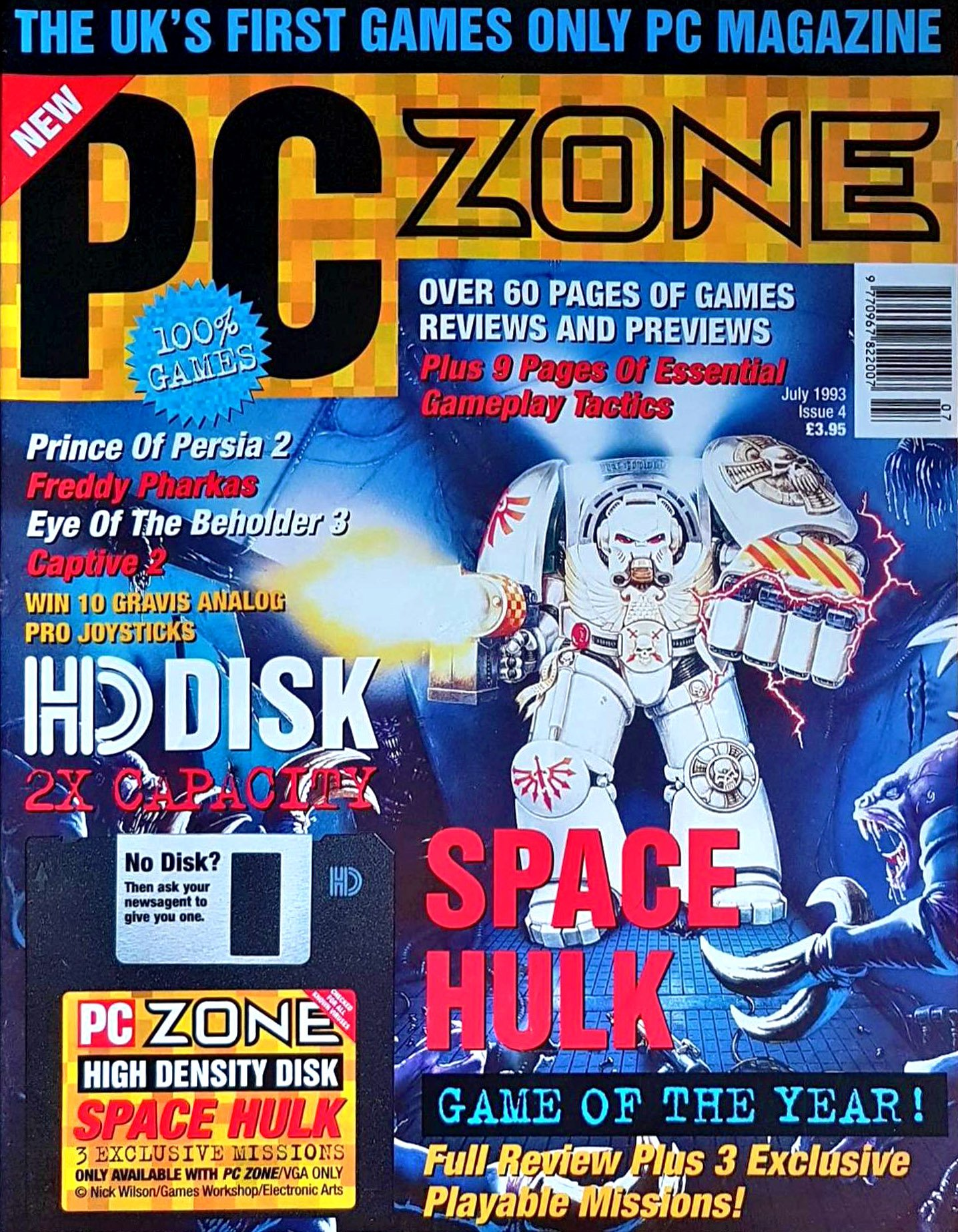 PC Zone Issue 004 (July 1993)