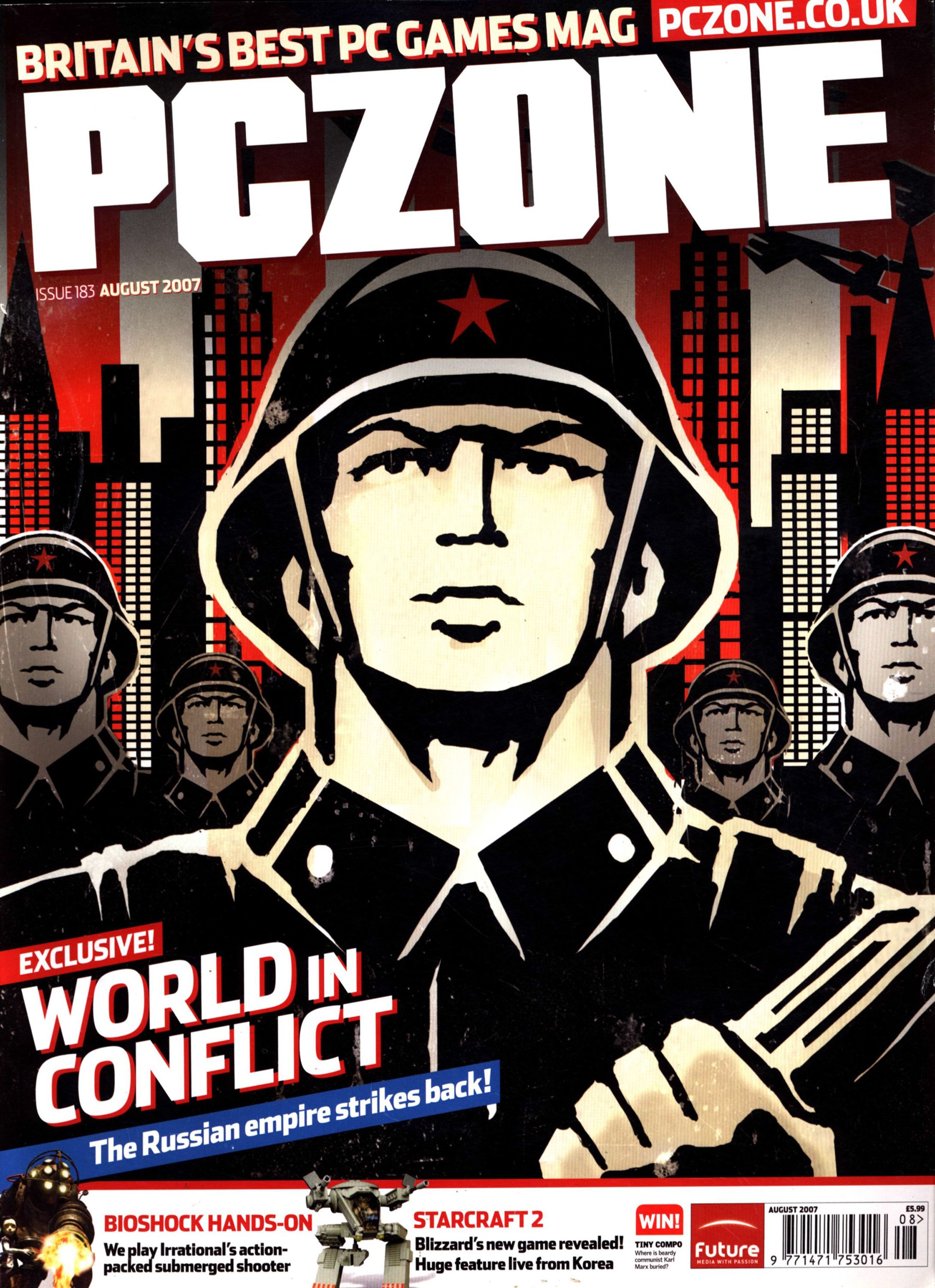 PC Zone Issue 183 (August 2007)