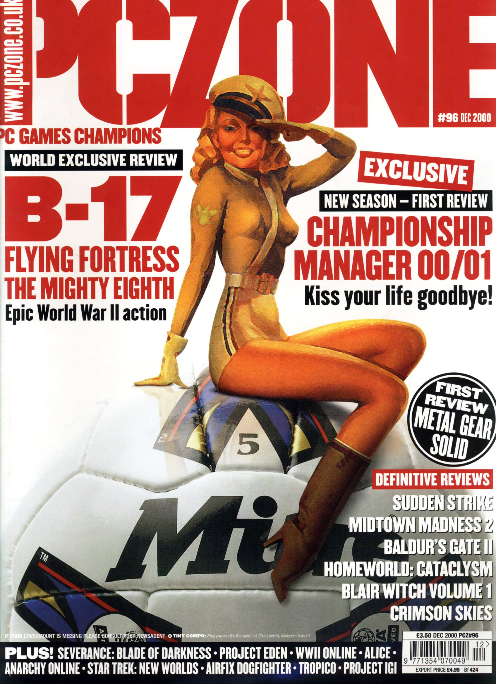 PC Zone Issue 096 (December 2000)