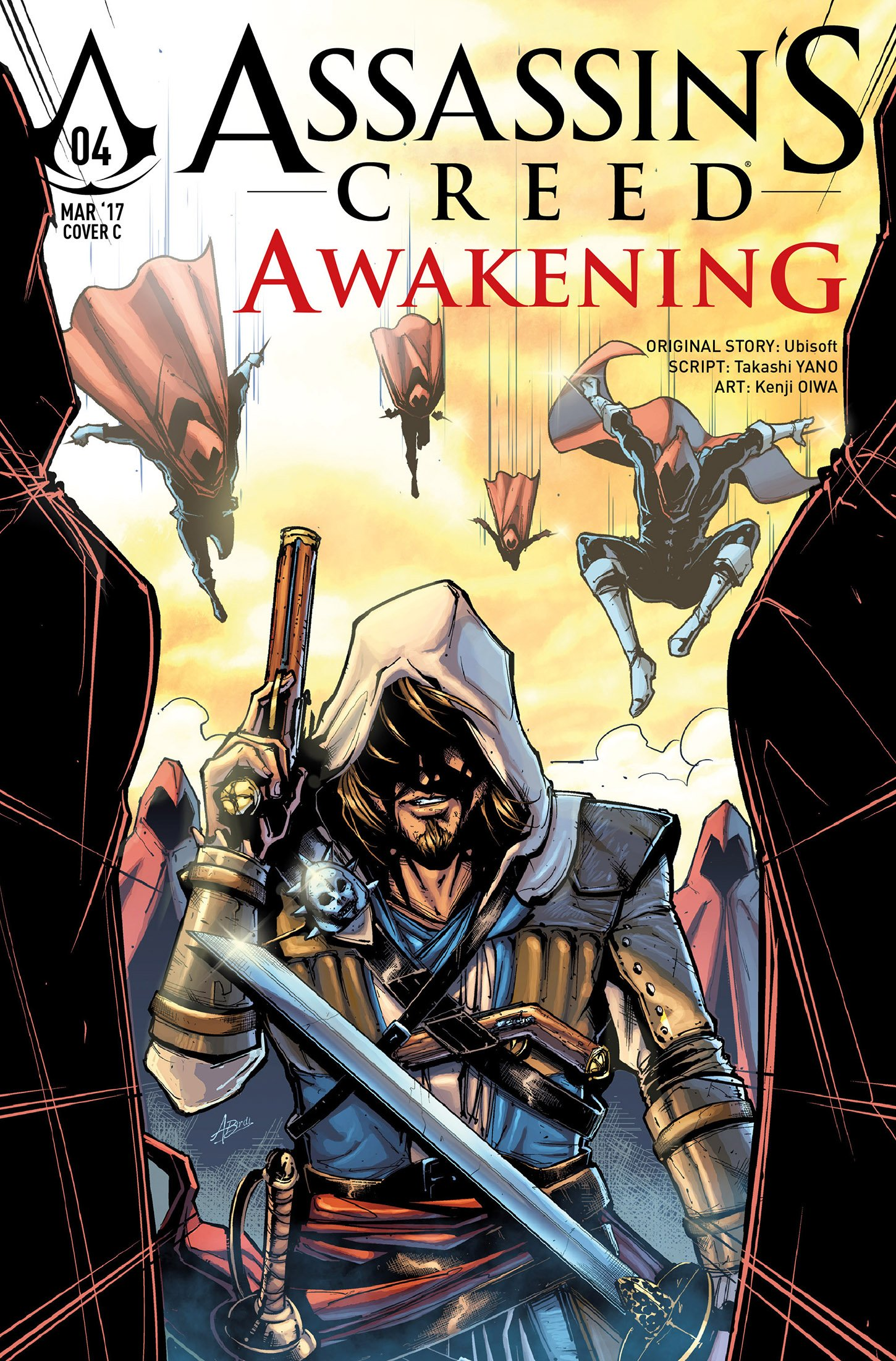 Assassin's Creed - Awakening 04 (March 2017) (cover c)