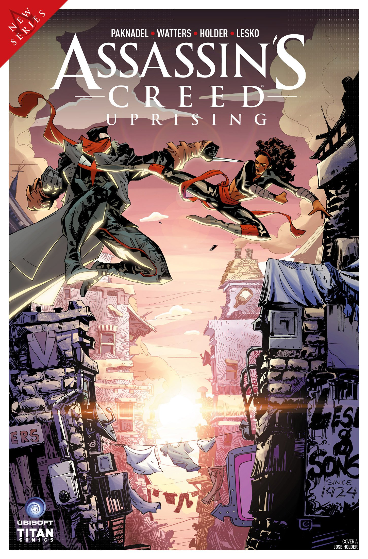 Assassin's Creed - Uprising 04 (June 2017) (cover a)