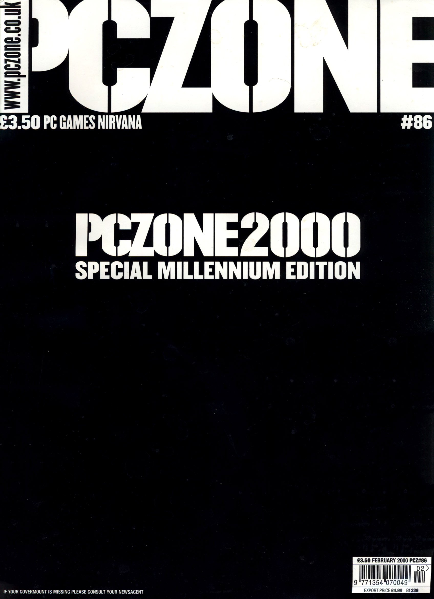 PC Zone Issue 086 (February 2000)