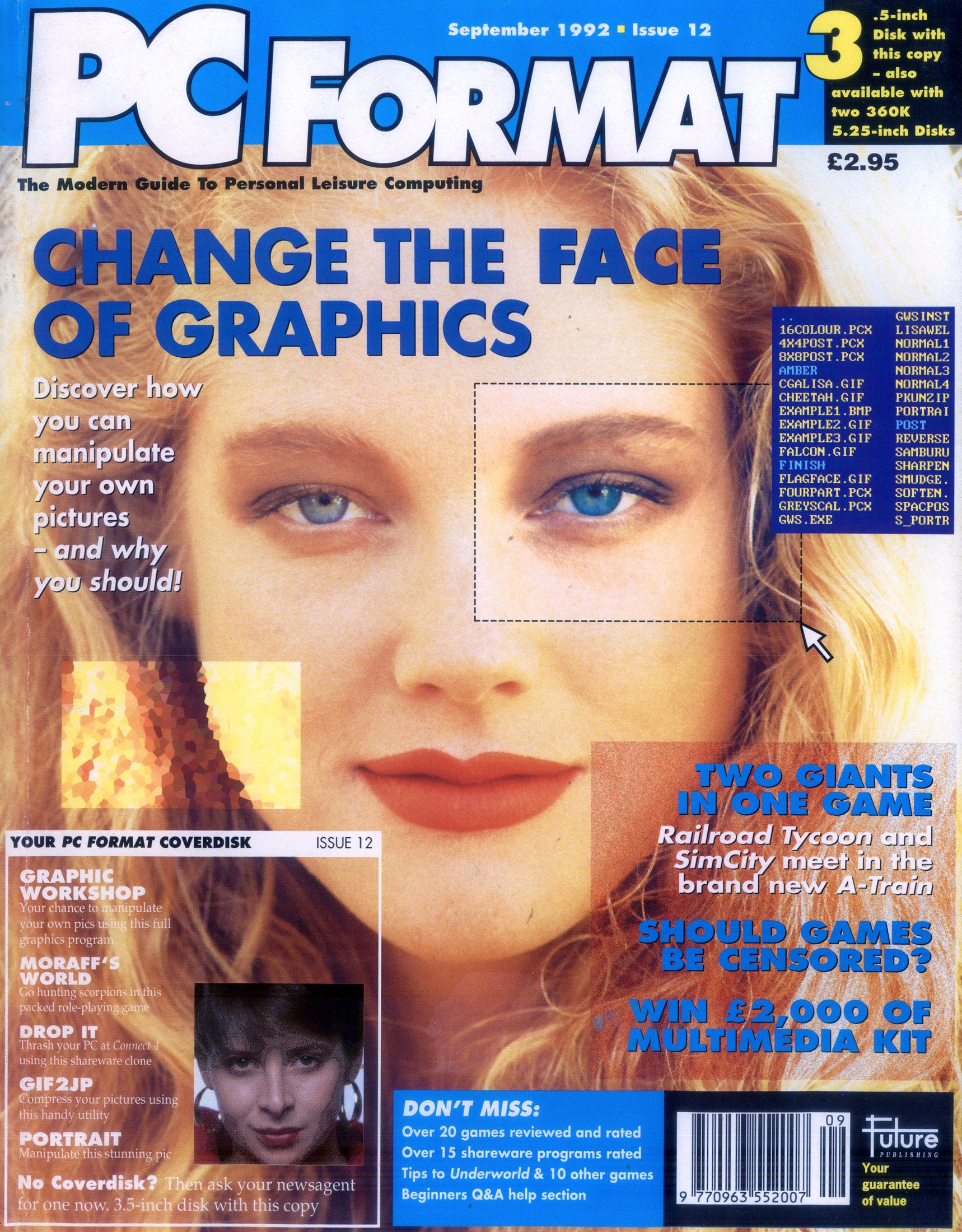 PC Format Issue 012 (September 1992)