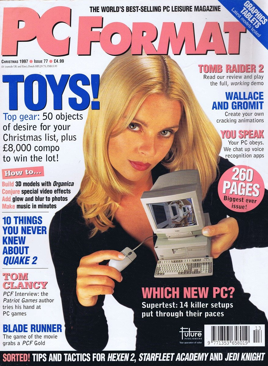 PC Format Issue 077 (Christmas 1997)