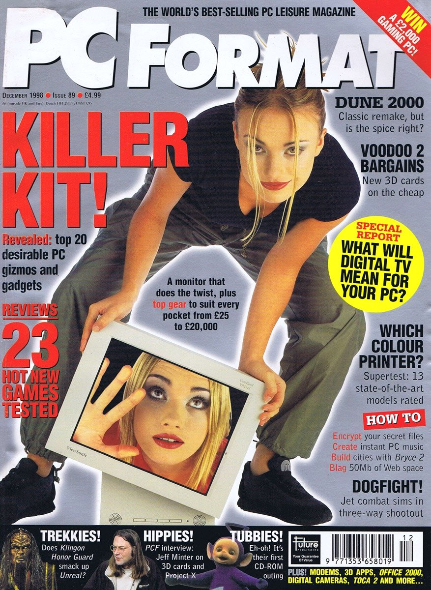 PC Format Issue 089 (December 1998)