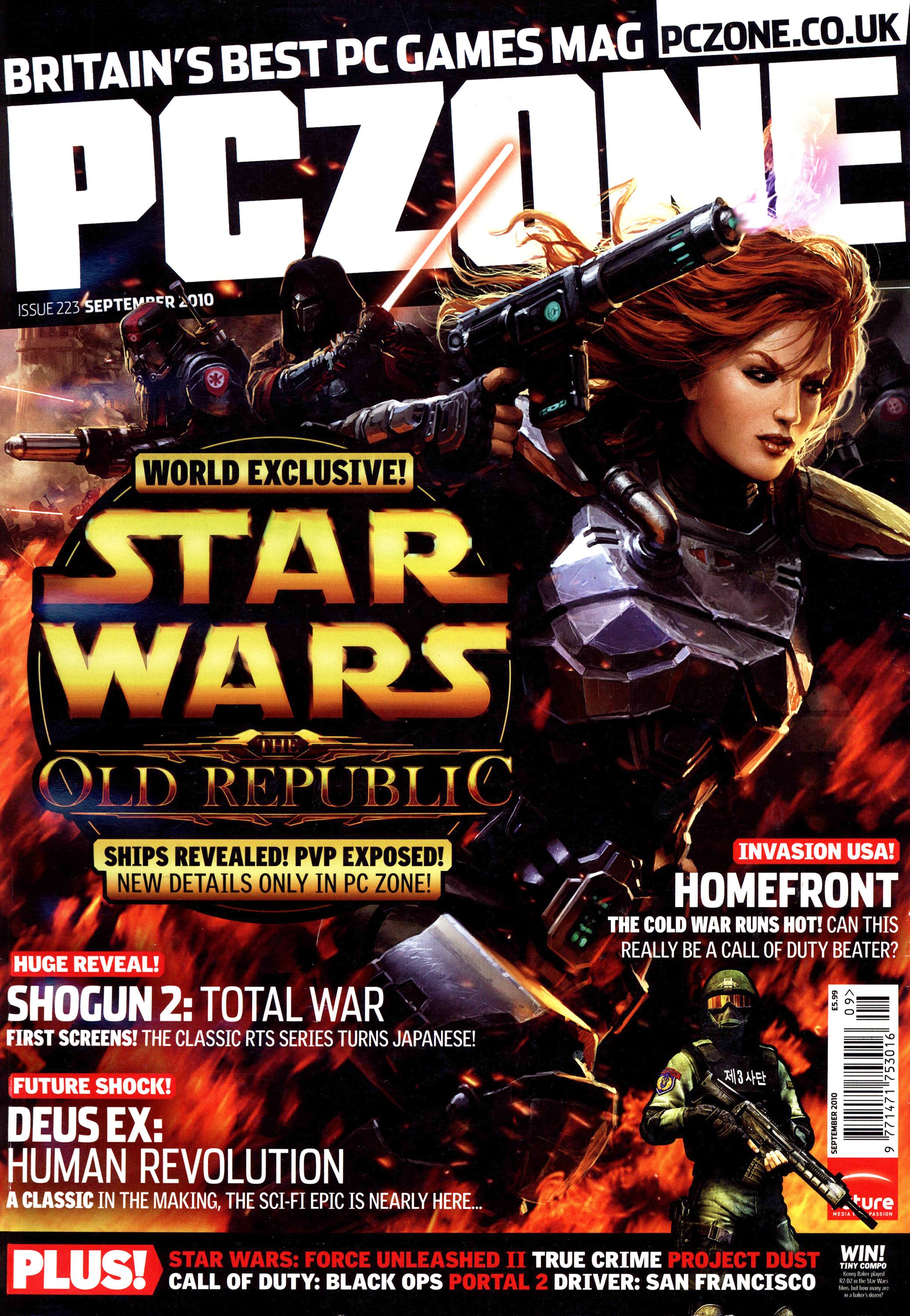 PC Zone Issue 223 (September 2010)