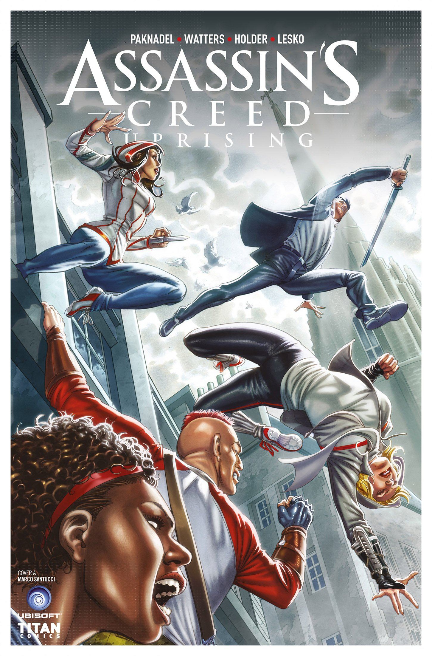 Assassin's Creed - Uprising 05 (August 2017) (cover a)