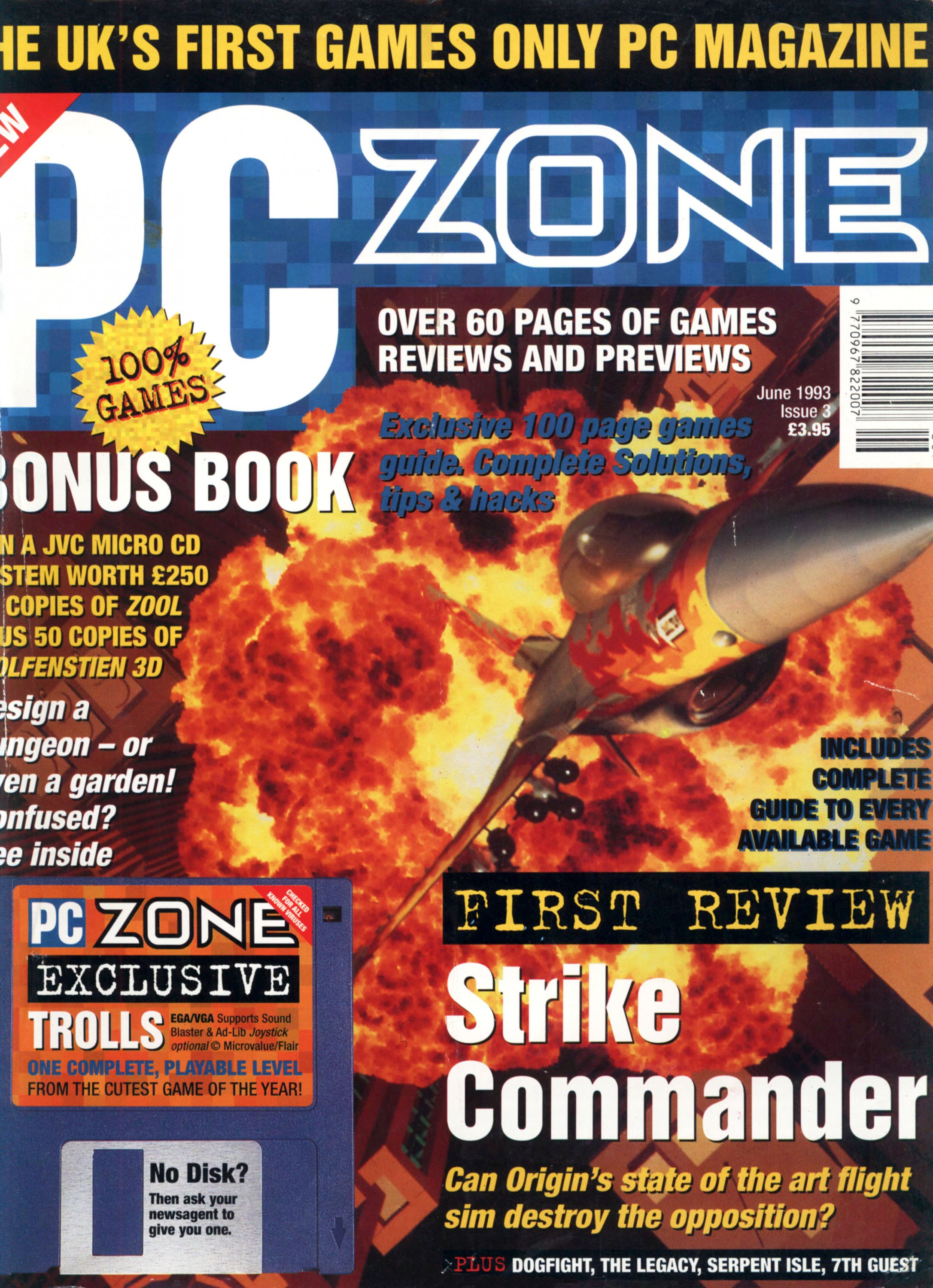 PC Zone Issue 003 (June 1993)