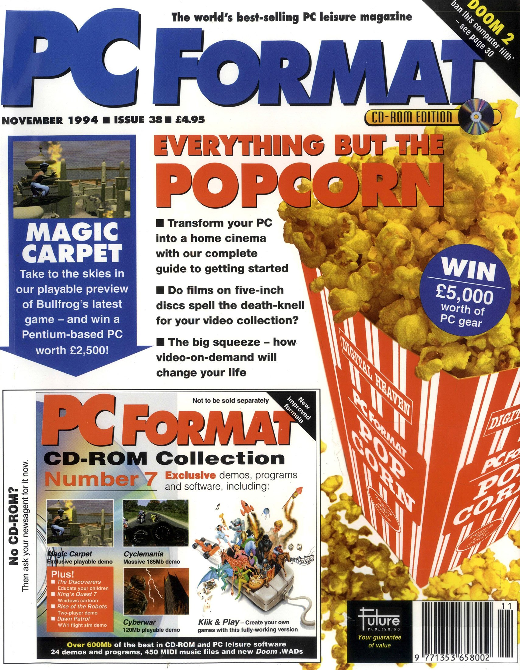 PC Format Issue 038 (November 1994)