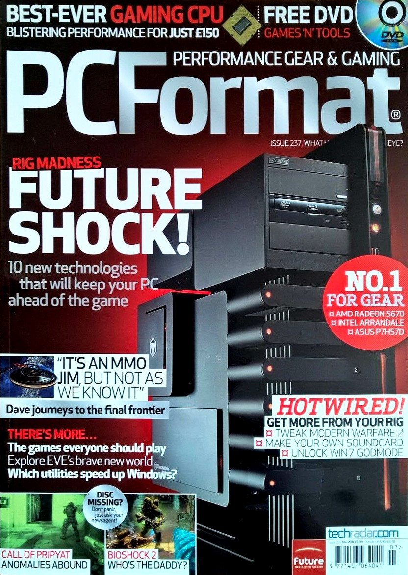 PC Format Issue 237 (March 2010)
