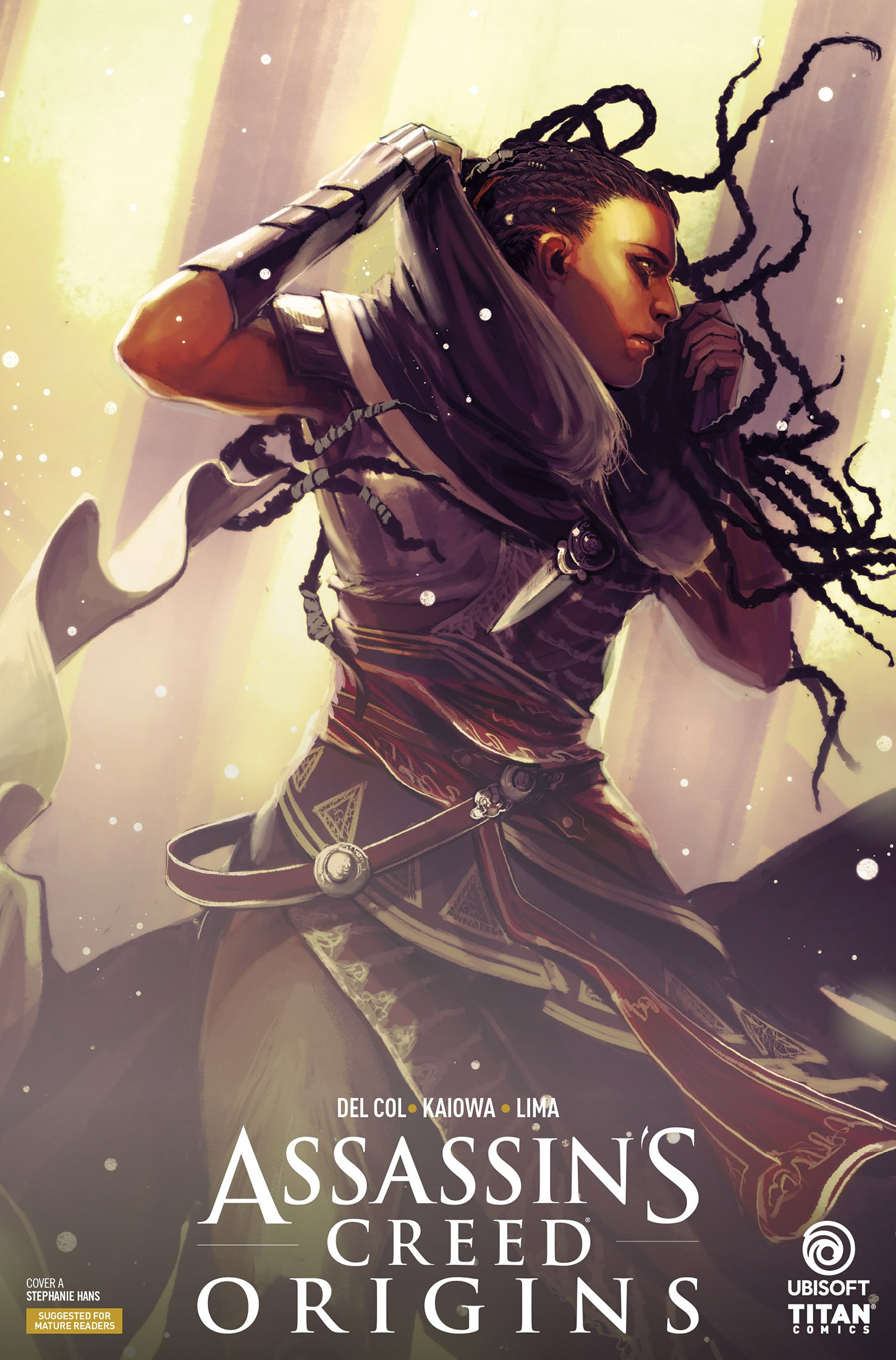 Assassin's Creed - Origins 01 (March 2018) (cover a)
