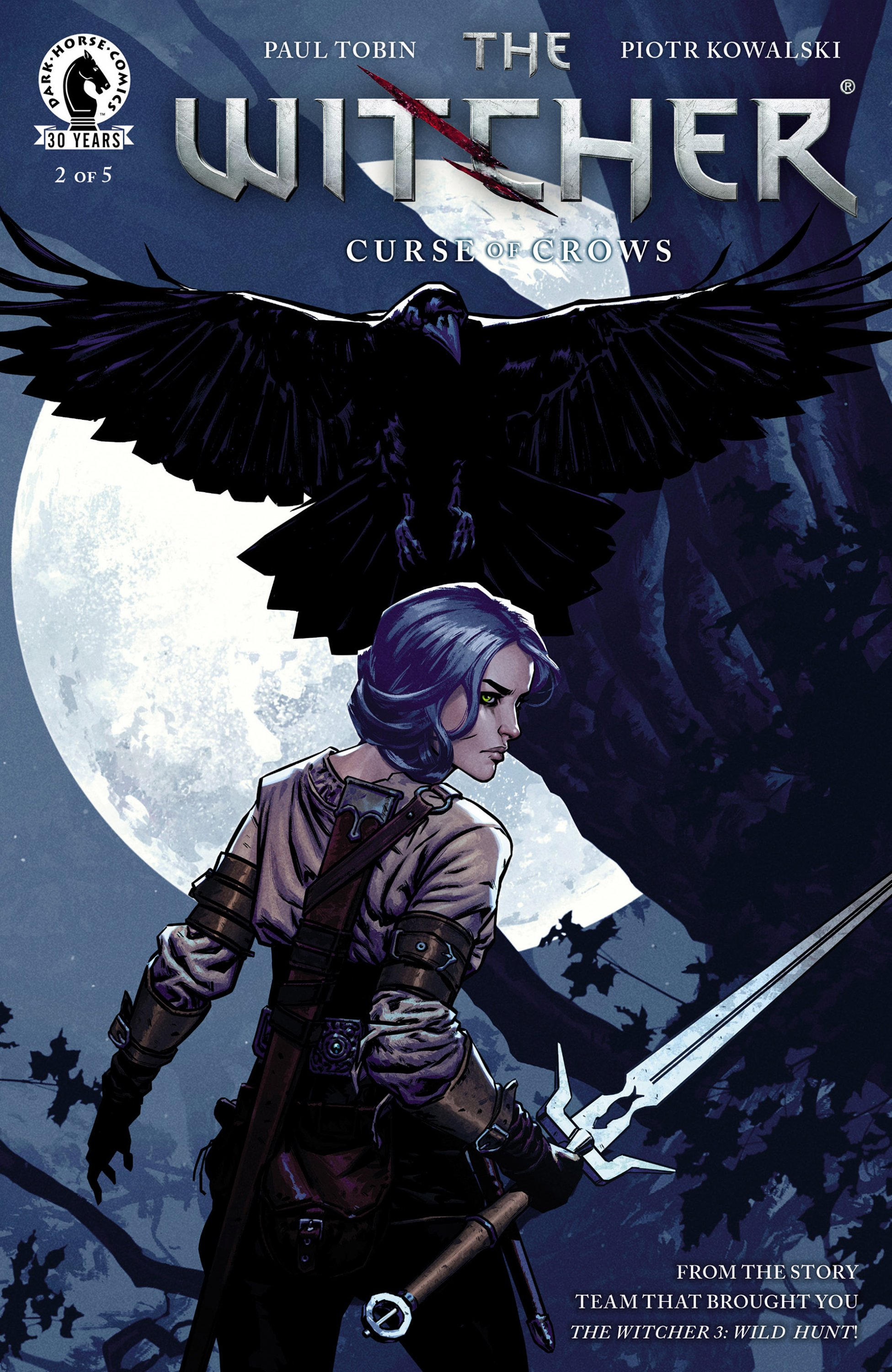 The Witcher - Curse of Crows 002 (October 2016)