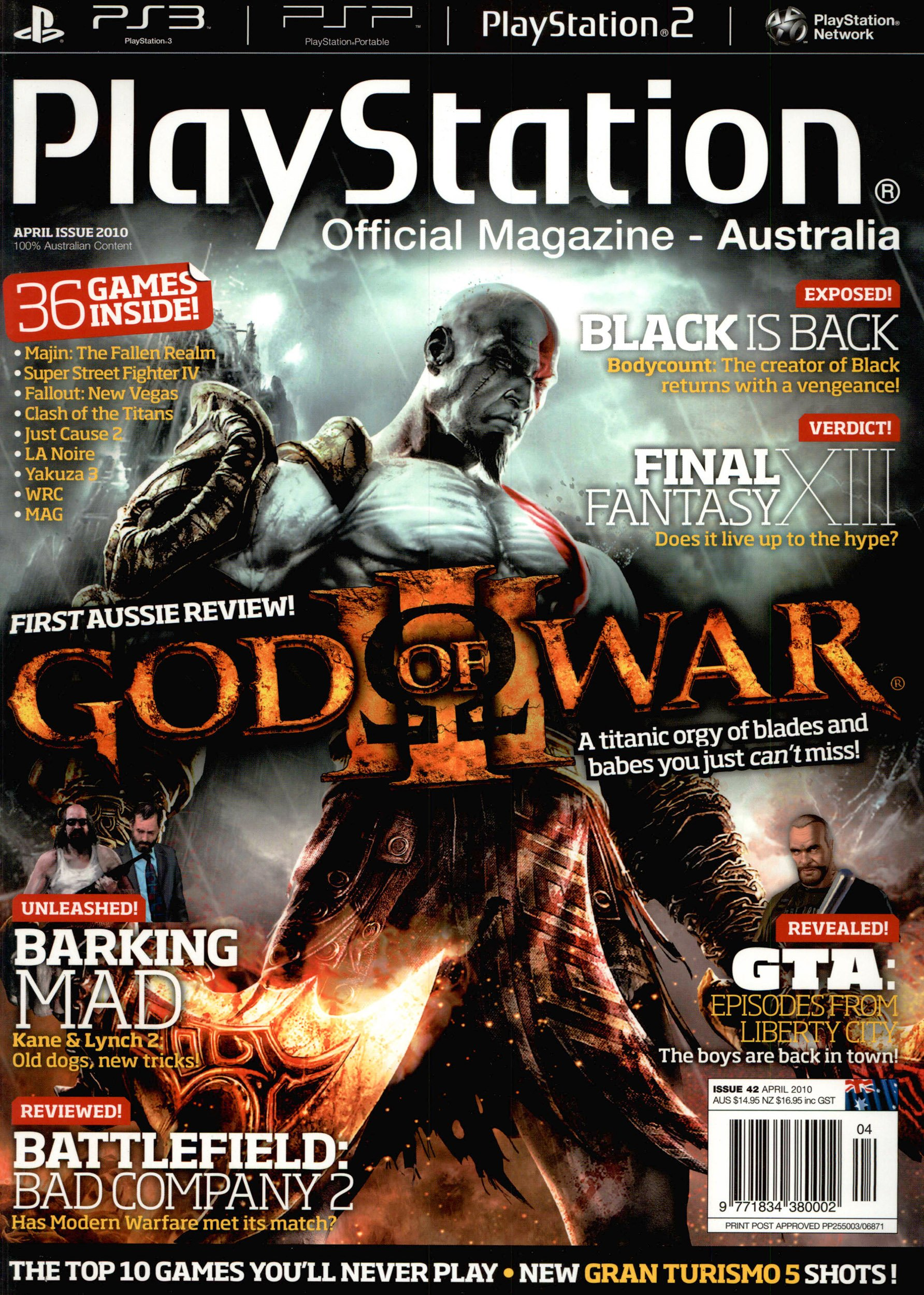 PlayStation Official Magazine Issue 042 (April 2010)