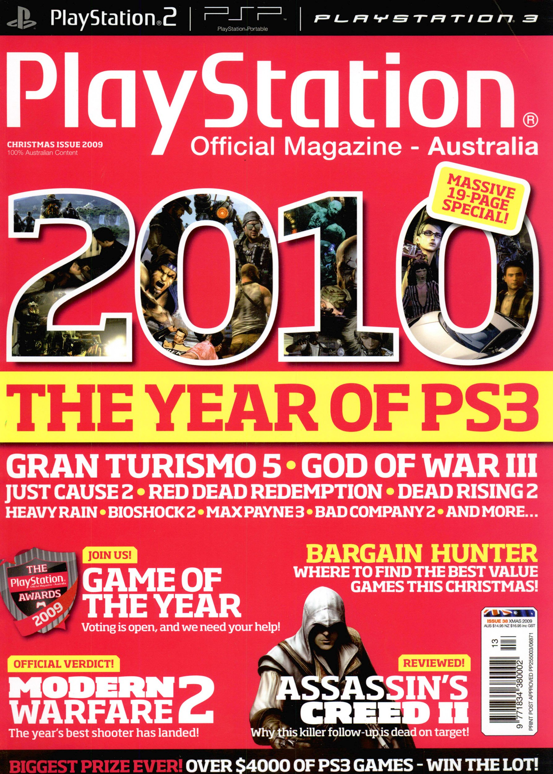 PlayStation Official Magazine Issue 038 (Christmas 2009)