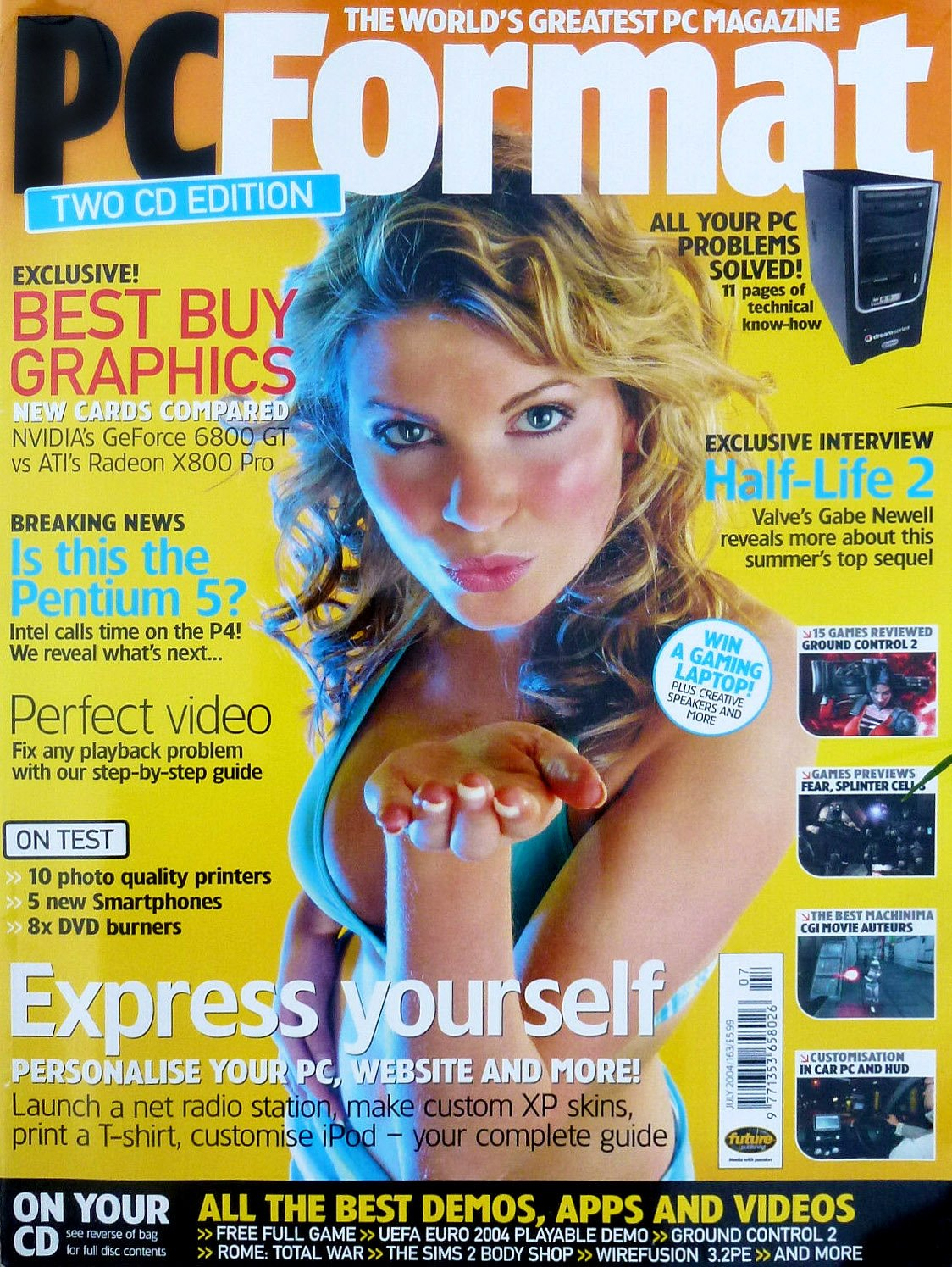 PC Format Issue 163 (July 2004)