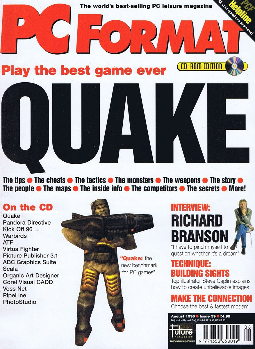 PC Format Issue 059 (August 1996)