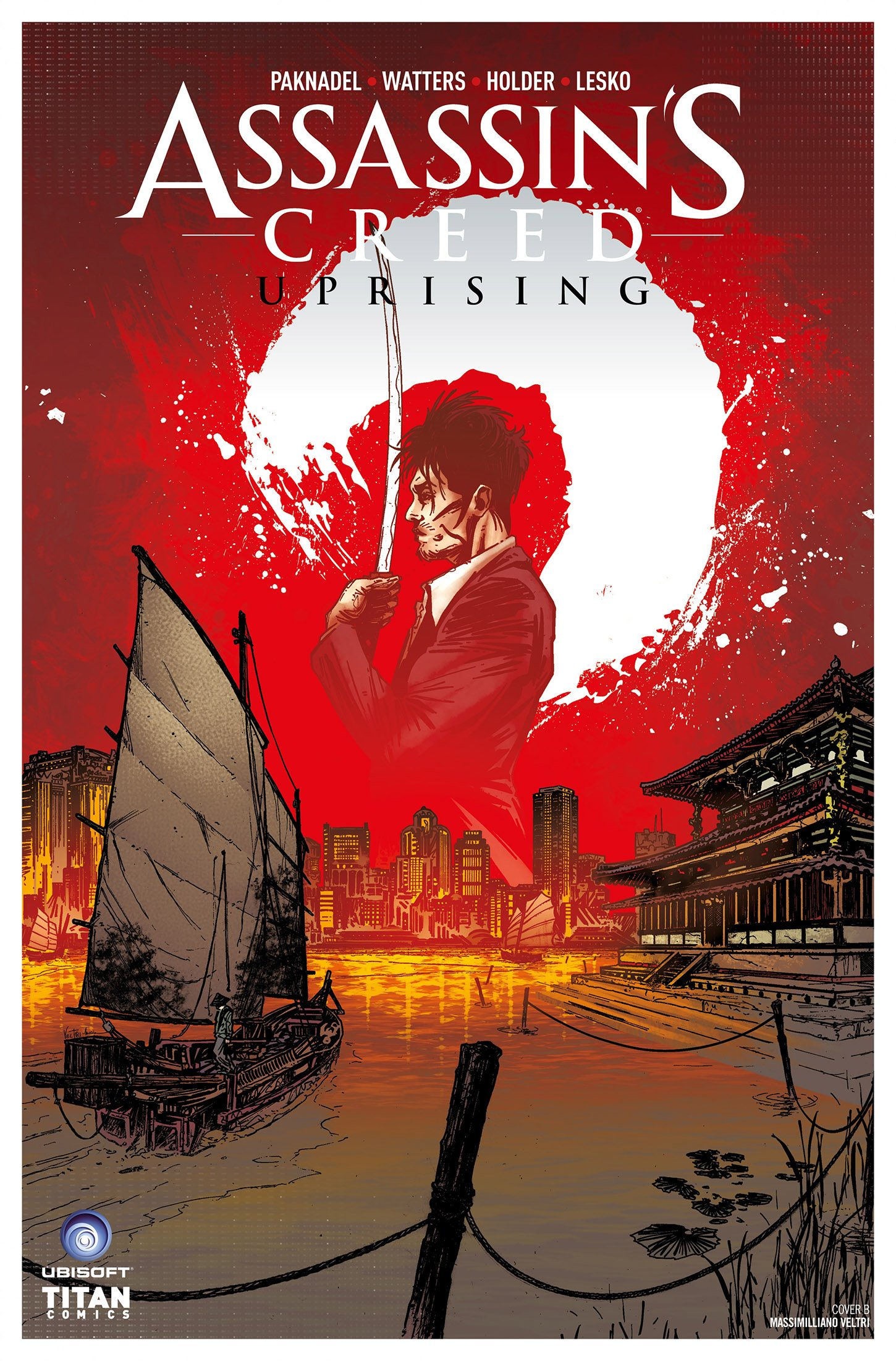 Assassin's Creed - Uprising 05 (August 2017) (cover b)