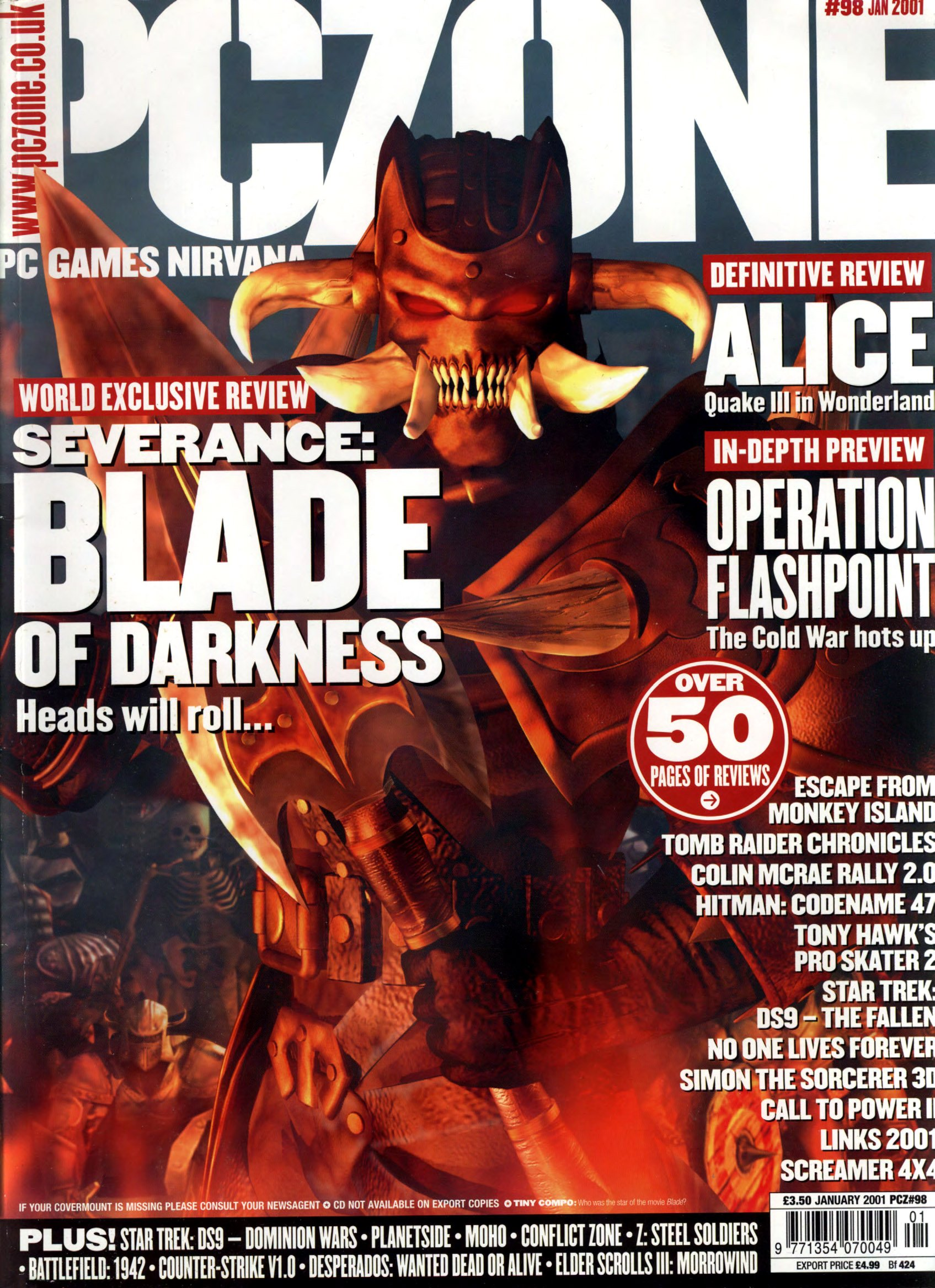 PC Zone Issue 098 (January 2001)
