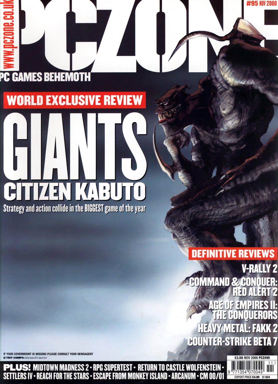 PC Zone Issue 095 (November 2000)