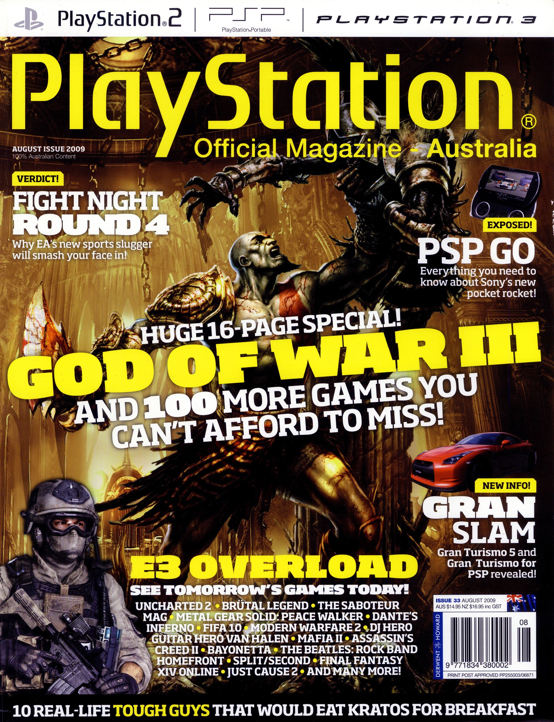 PlayStation Official Magazine Issue 033 (August 2009)