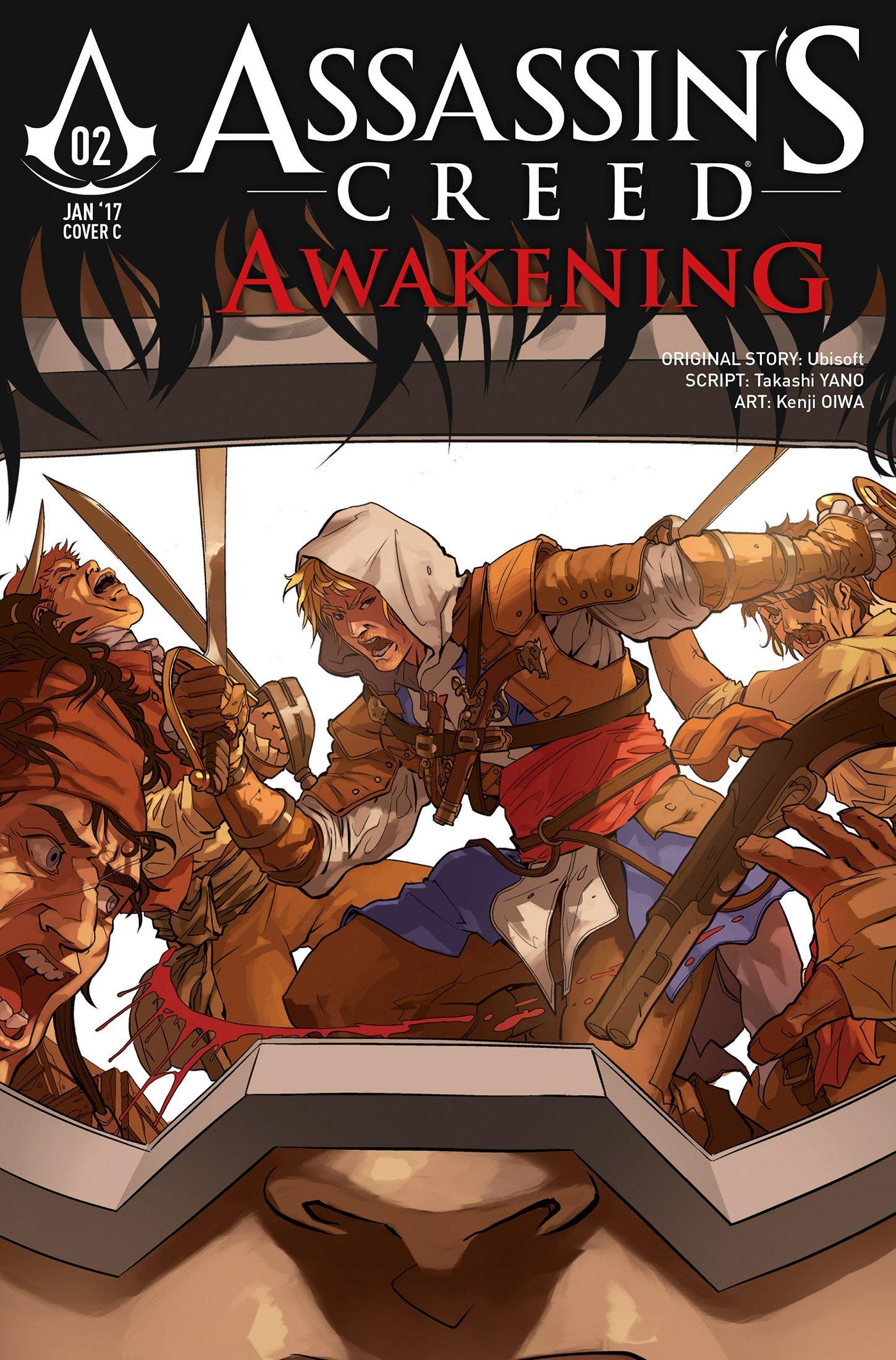 Assassin's Creed - Awakening 02 (January 2017) (cover c)
