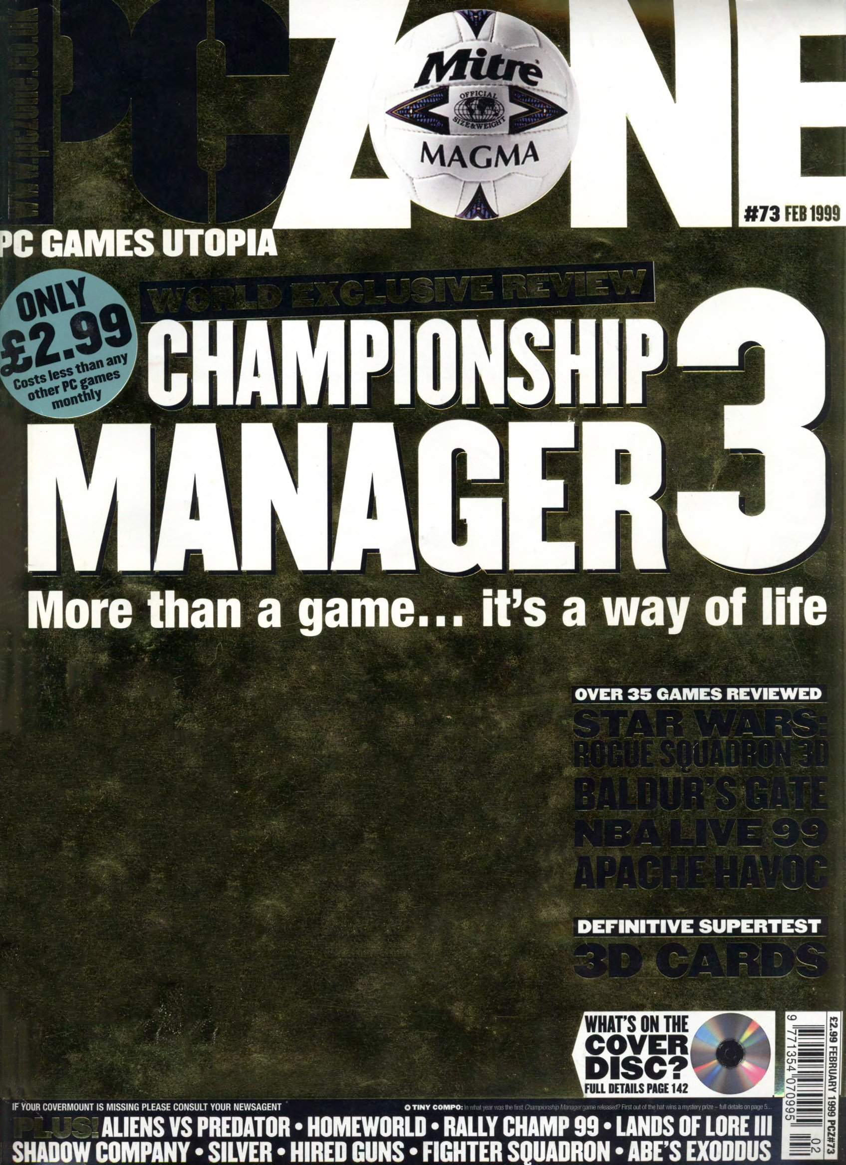 PC Zone Issue 073 (February 1999)