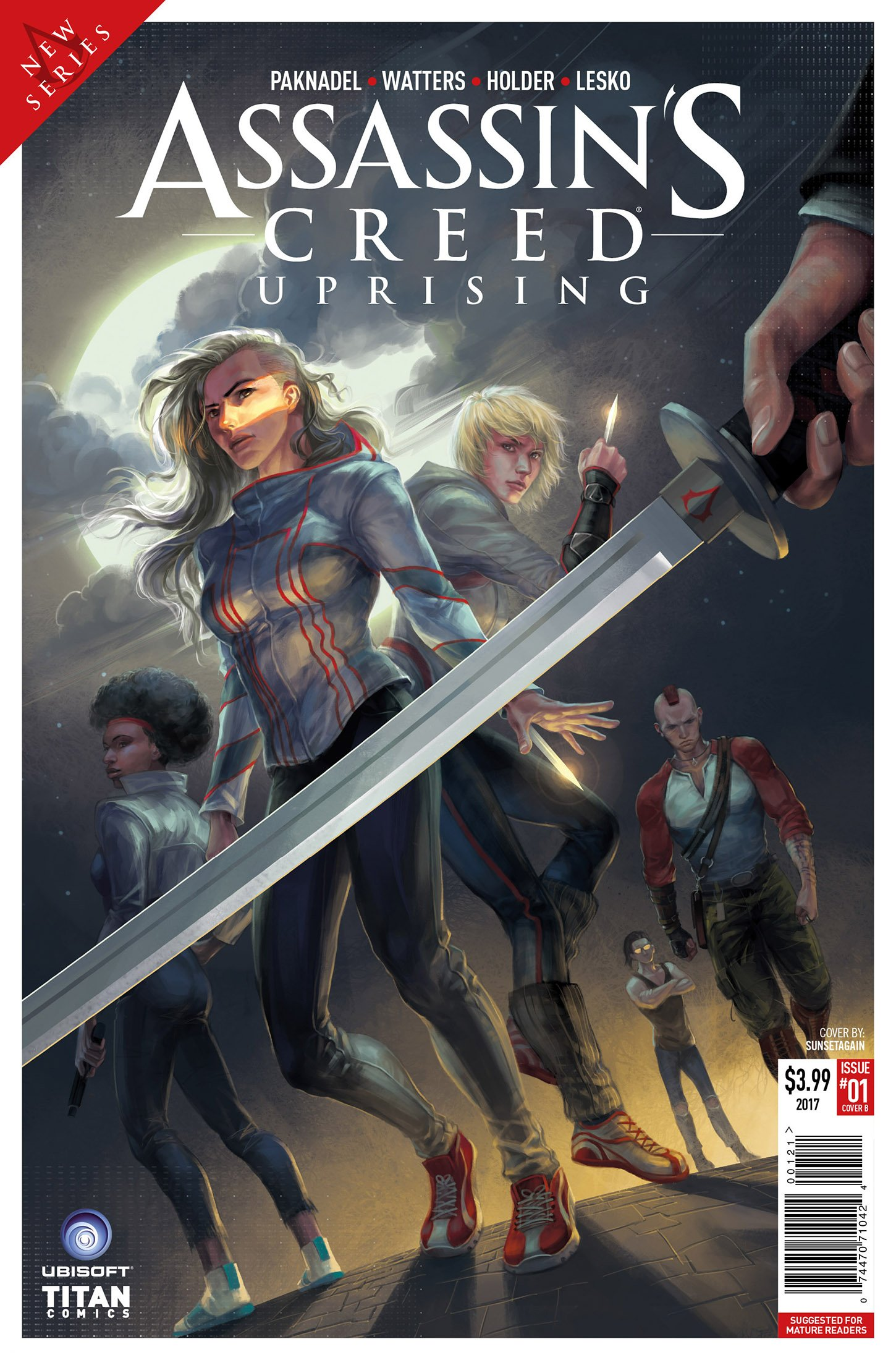 Assassin's Creed - Uprising 01 (February 2017) (cover b)