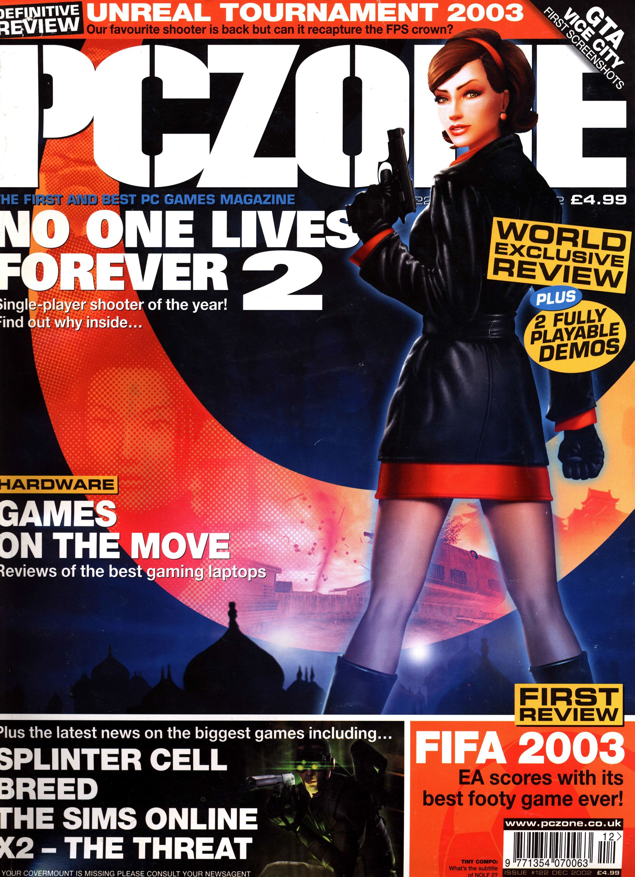 PC Zone Issue 122 (December 2002)