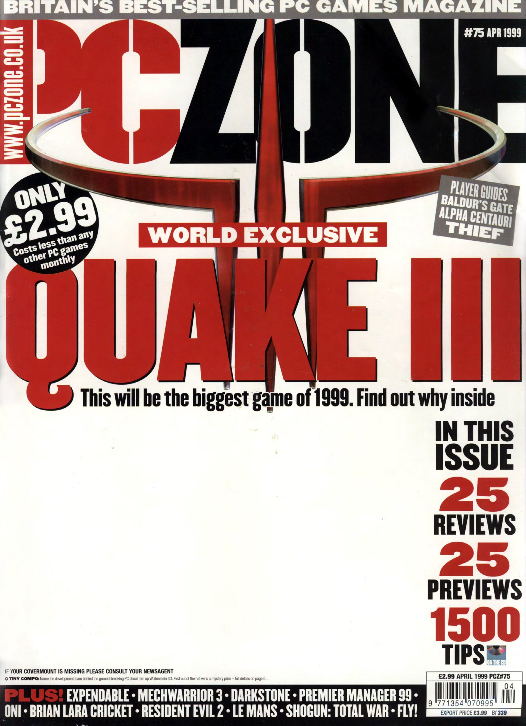 PC Zone Issue 075 (April 1999)
