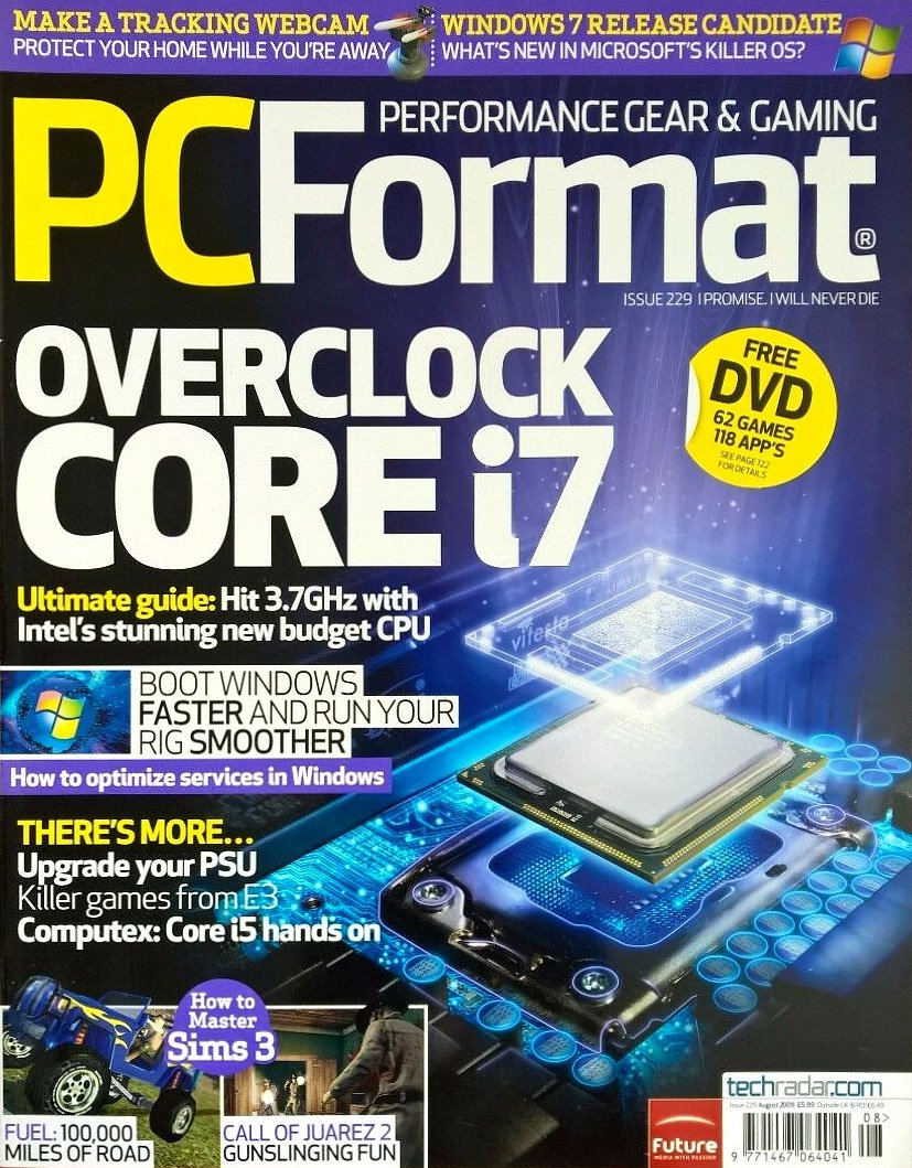 PC Format Issue 229 (August 2009)
